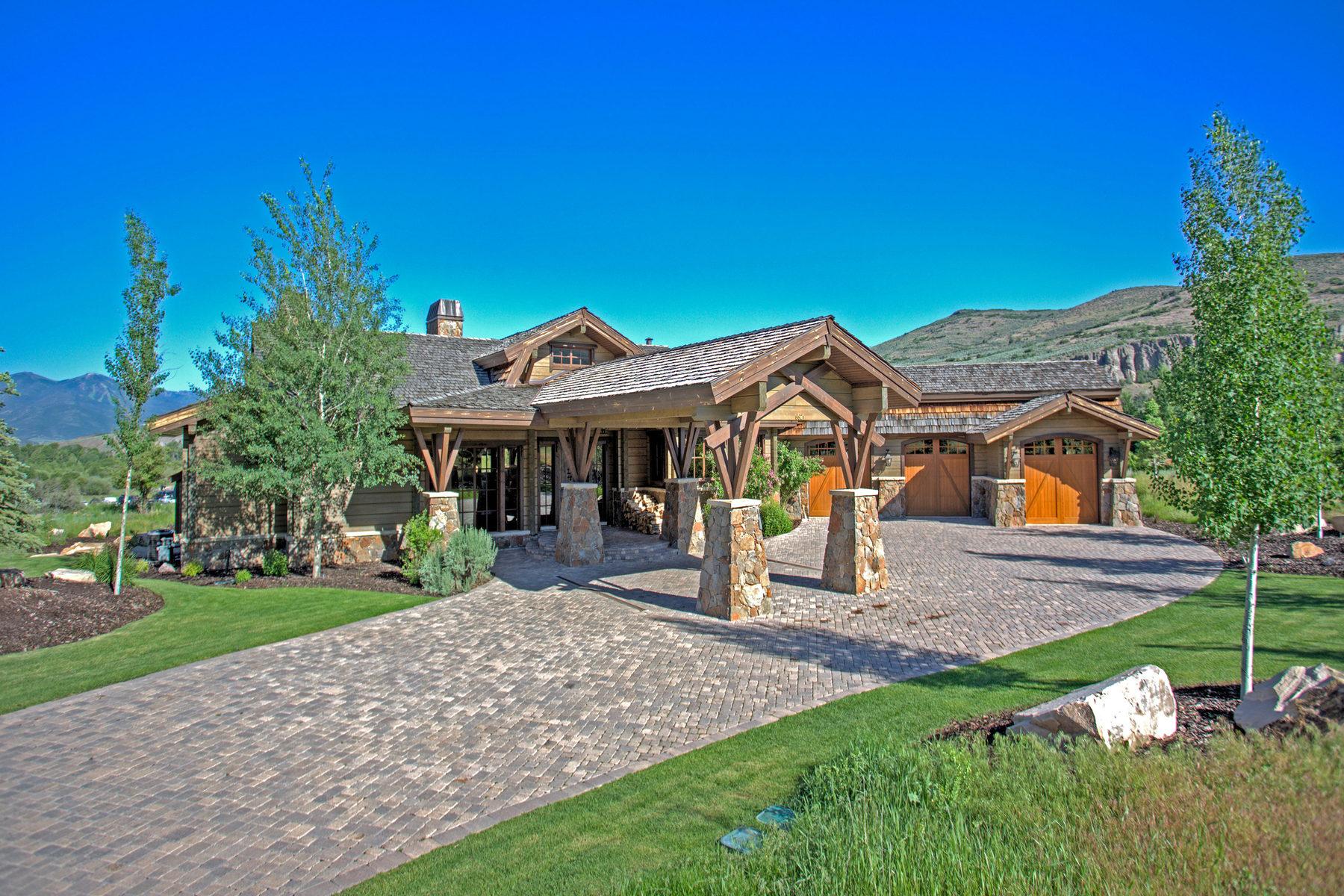 Maison unifamiliale pour l Vente à Spectacular Custom Estate at Victory Ranch 6621 E Stone Fly Ct Heber City, Utah 84032 États-Unis