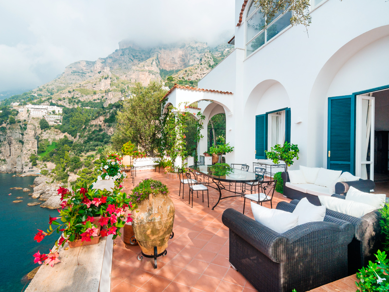 Single Family Home for Sale at Unique seafront Amalfi coast private resort Praiano Praiano, Salerno 84100 Italy