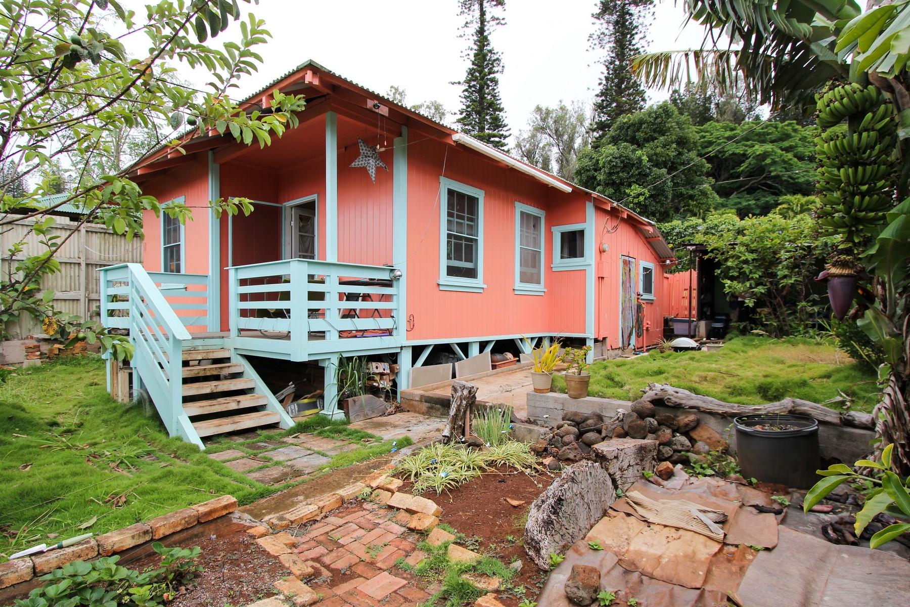 Частный односемейный дом для того Продажа на Lanai Hide-A-Way 1029 Palawai Lane Lanai City, Гавайи, 96763 Соединенные Штаты