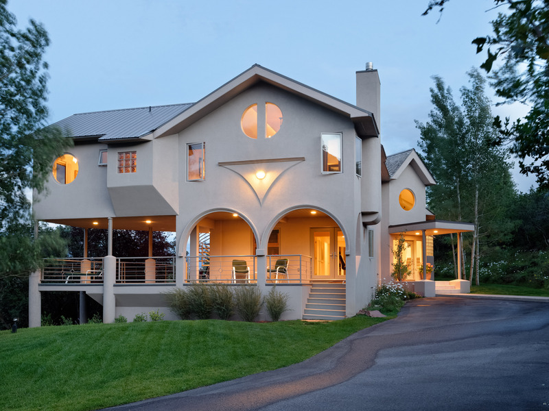 Single Family Home for Sale at Custom Contemporary Home 1590 Juniper Hill Drive Aspen, Colorado 81611 United States