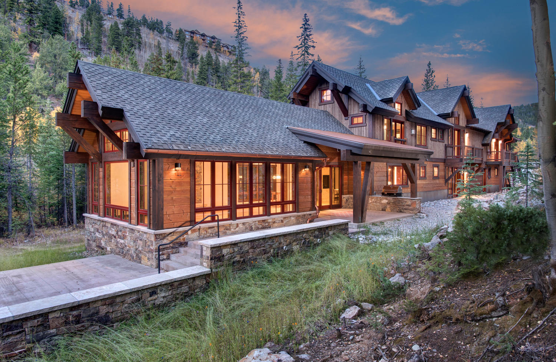 단독 가정 주택 용 매매 에 In Town Mountain Modern Masterpiece 1003 Boreas Pass Road Breckenridge, 콜로라도, 80424 미국