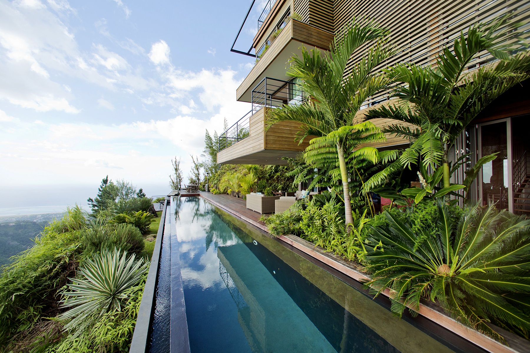 Single Family Home for Sale at Architectural masterpiece Papeete, Tahiti, 98713 French Polynesia
