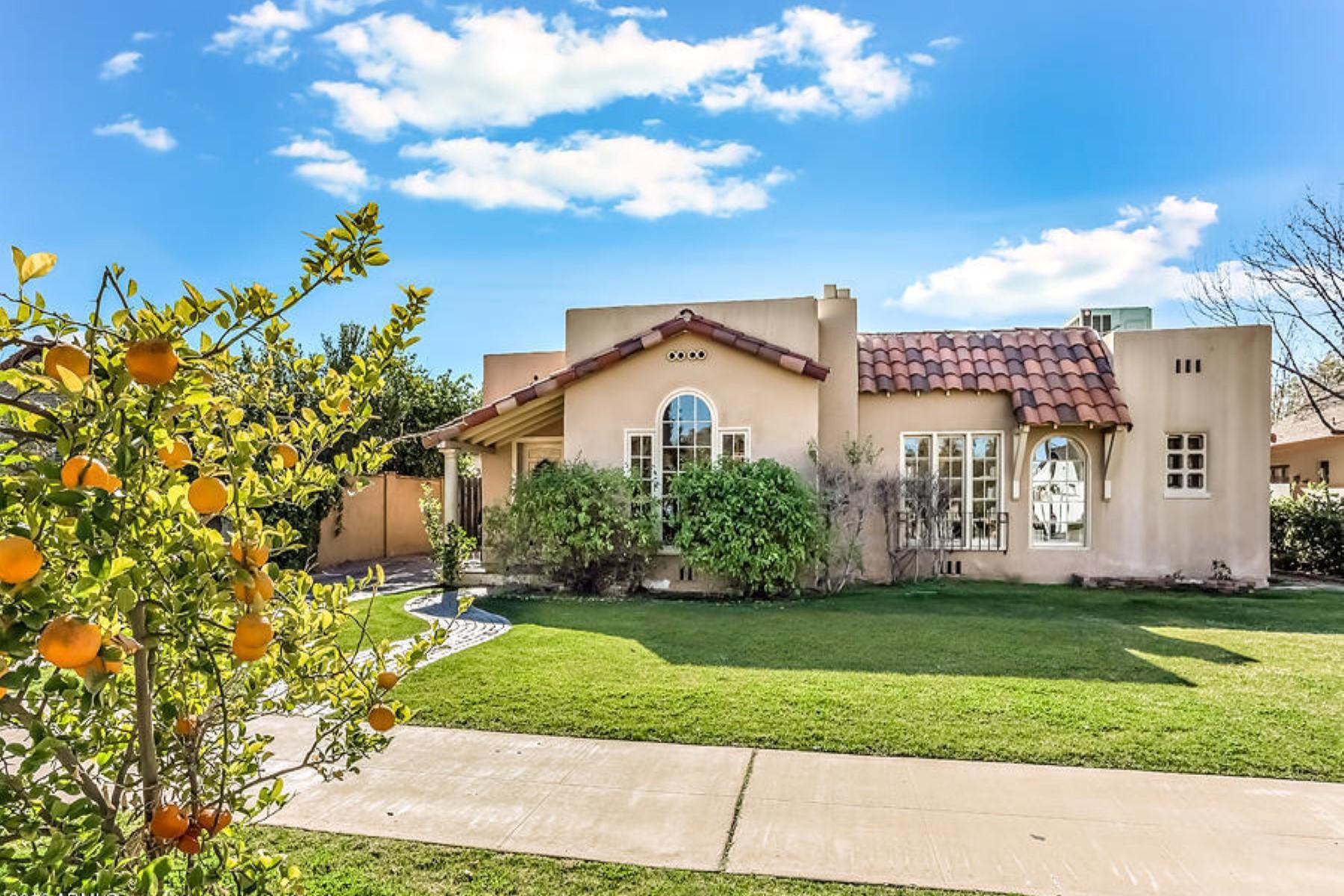 一戸建て のために 売買 アット Gorgeous 1930 Spanish Mission in the Willo Historic District 505 W Granada Rd Phoenix, アリゾナ, 85003 アメリカ合衆国