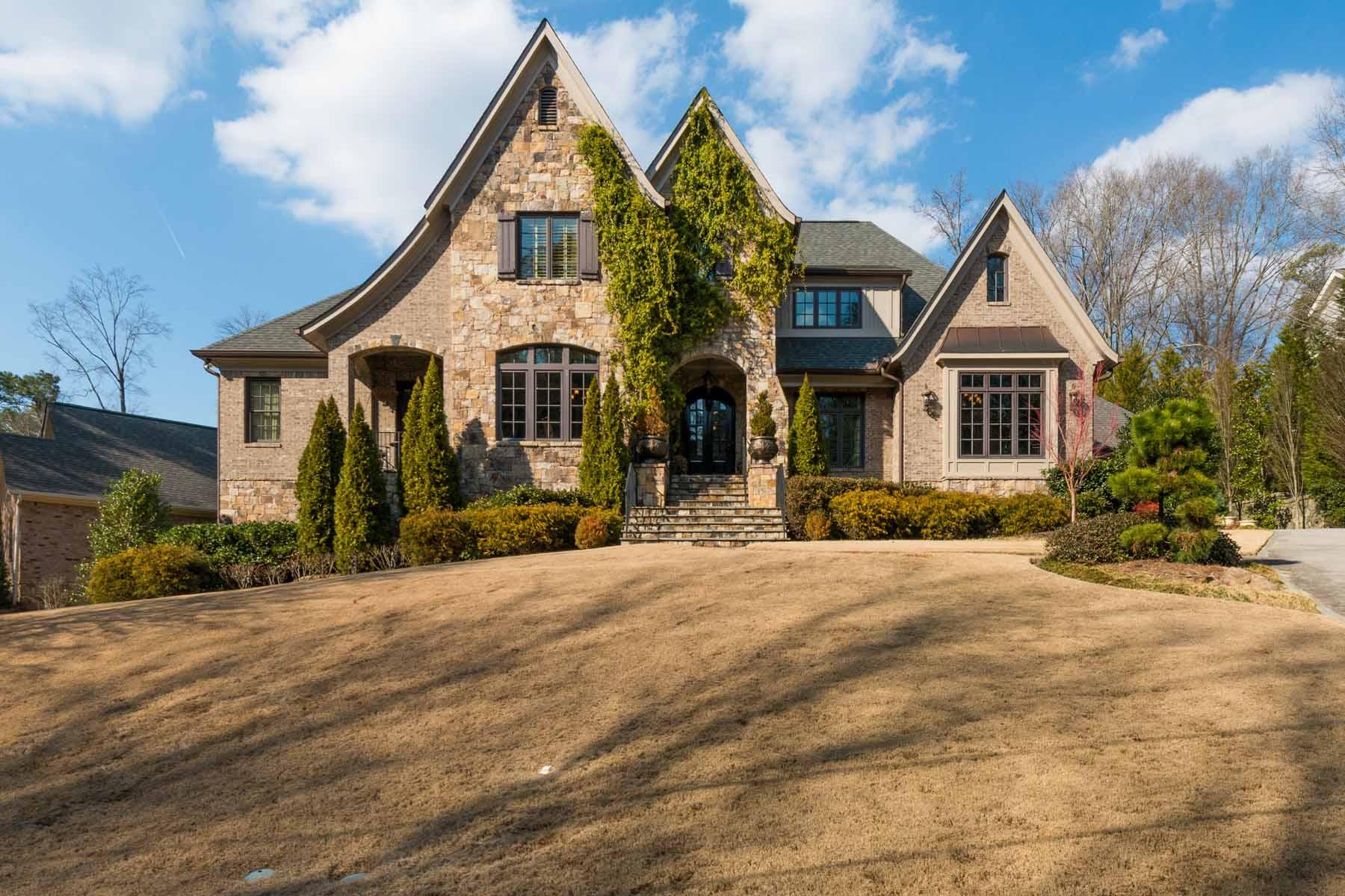 Μονοκατοικία για την Ενοίκιο στο Stunning European Manor 14 Laurel Drive NE Atlanta, Γεωργια 30342 Ηνωμενεσ Πολιτειεσ
