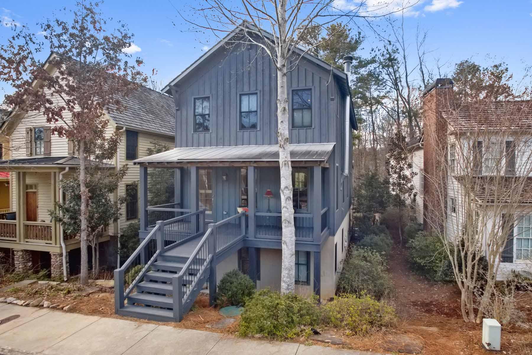 Tek Ailelik Ev için Satış at Amazing EarthCraft Home In Sustainable Community 9143 Selborne Lane Chattahoochee Hills, Georgia, 30268 Amerika Birleşik Devletleri