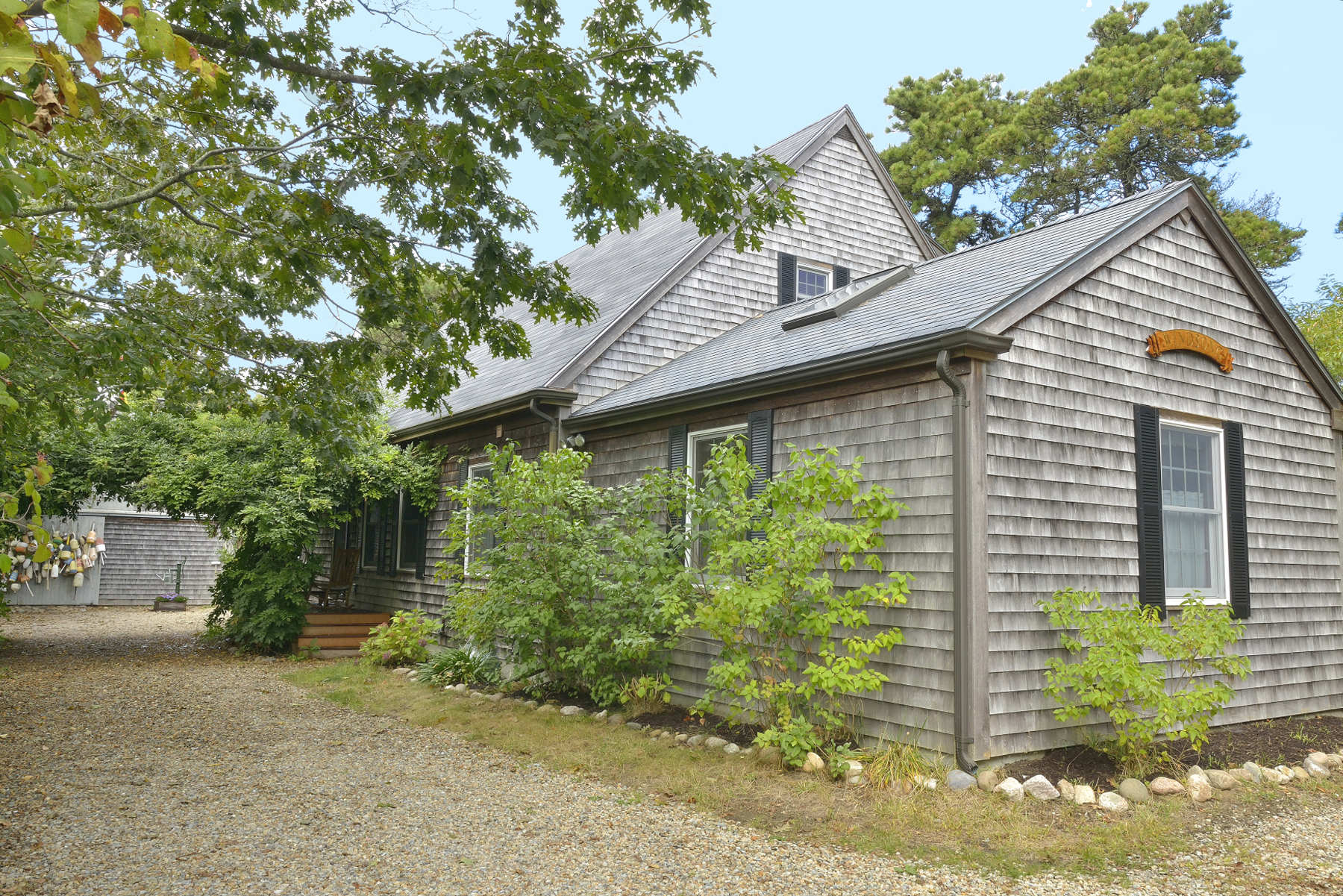 Single Family Home for Sale at Private Yet Centrally Located. 47 Fairgrounds Road Nantucket, Massachusetts 02554 United States