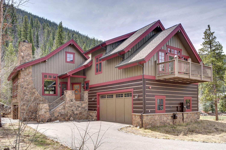 Maison unifamiliale pour l Vente à 68 Wolf Rock 68 Wolf Rock Road Keystone, Colorado, 80435 États-Unis