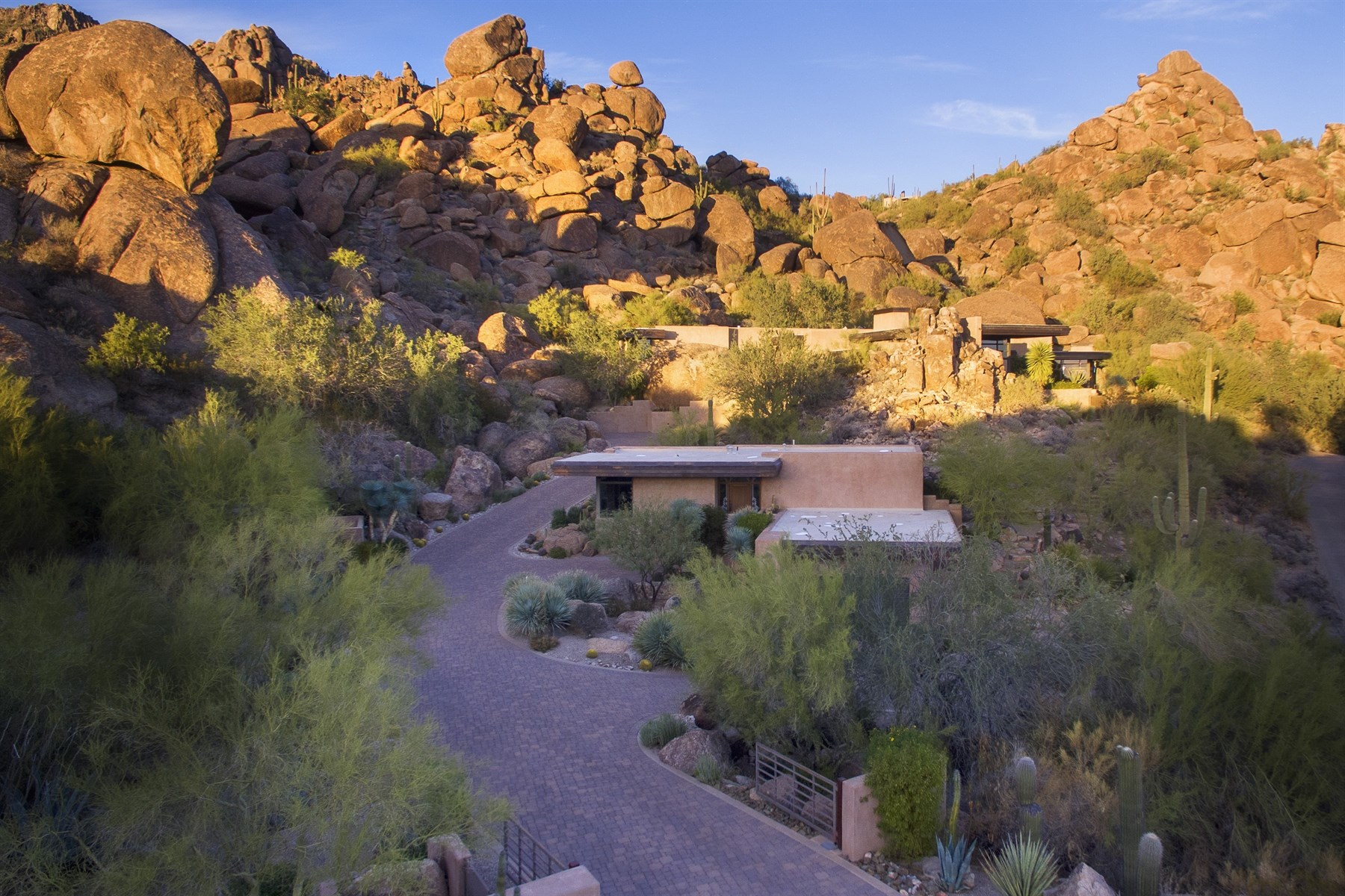 open-houses property at Magnificent Desert Contemporary in Carefree Grand View Estates