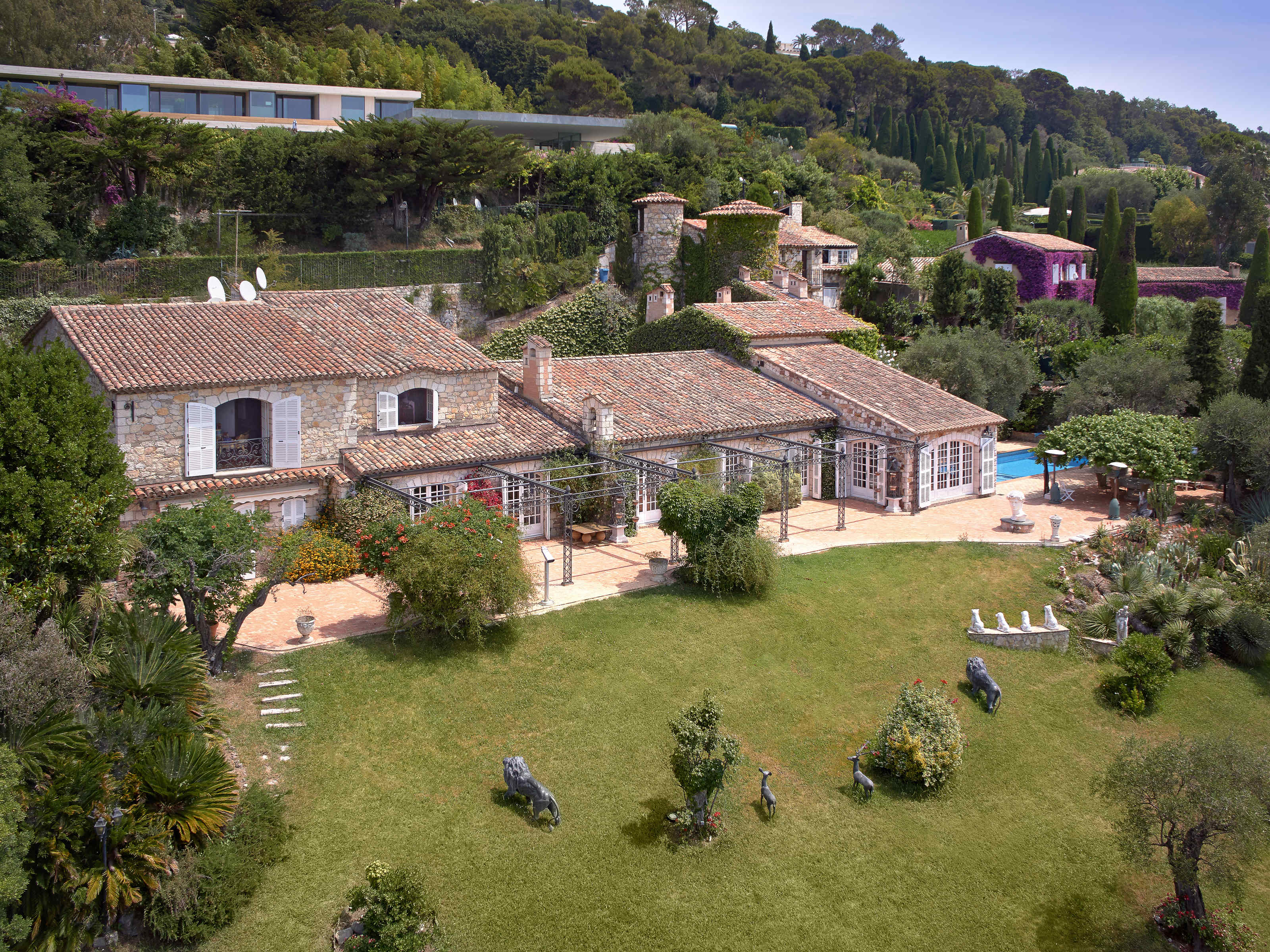 Single Family Home for Sale at Provencal property with stunning sea views Cannes Cannes, Provence-Alpes-Cote D'Azur 06400 France