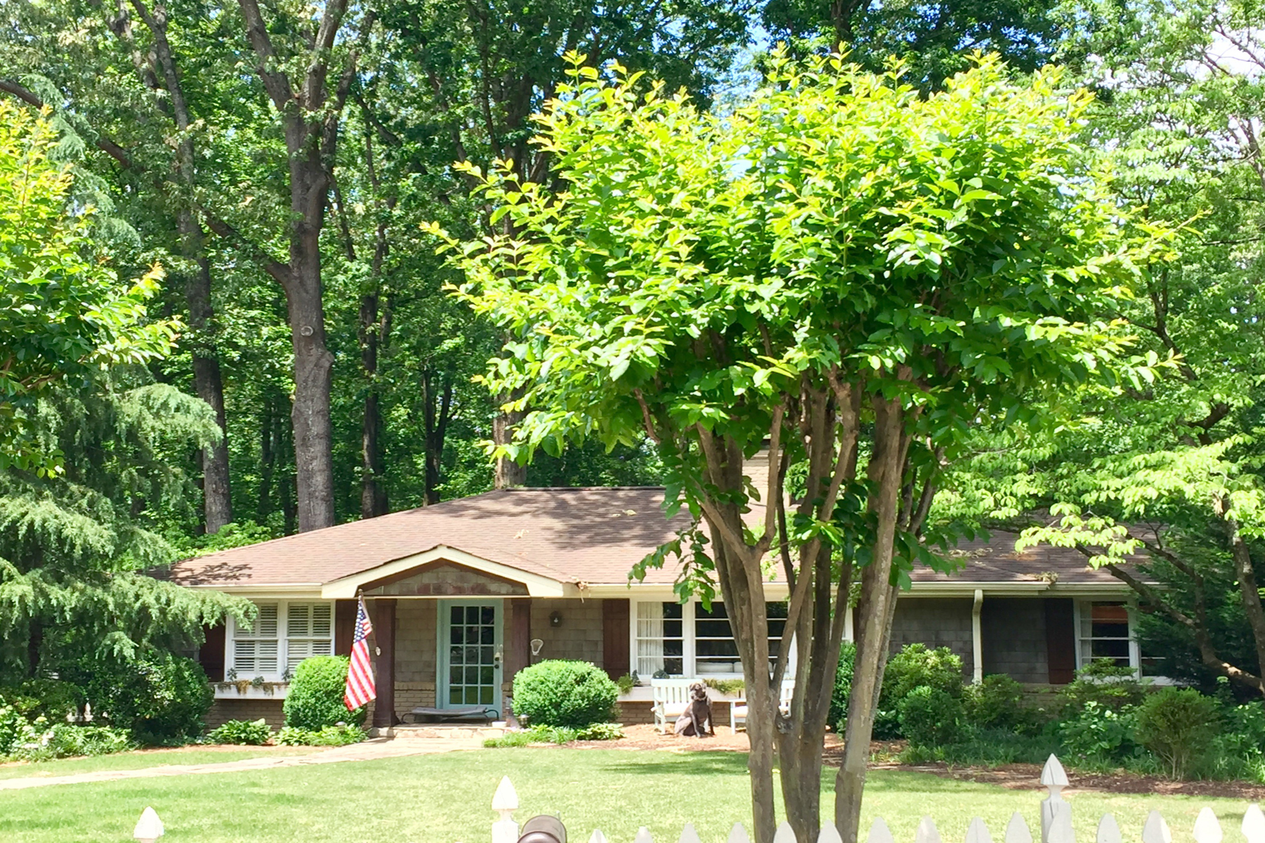 rentals property at Charming Home On One Acre In Sought After Chastain