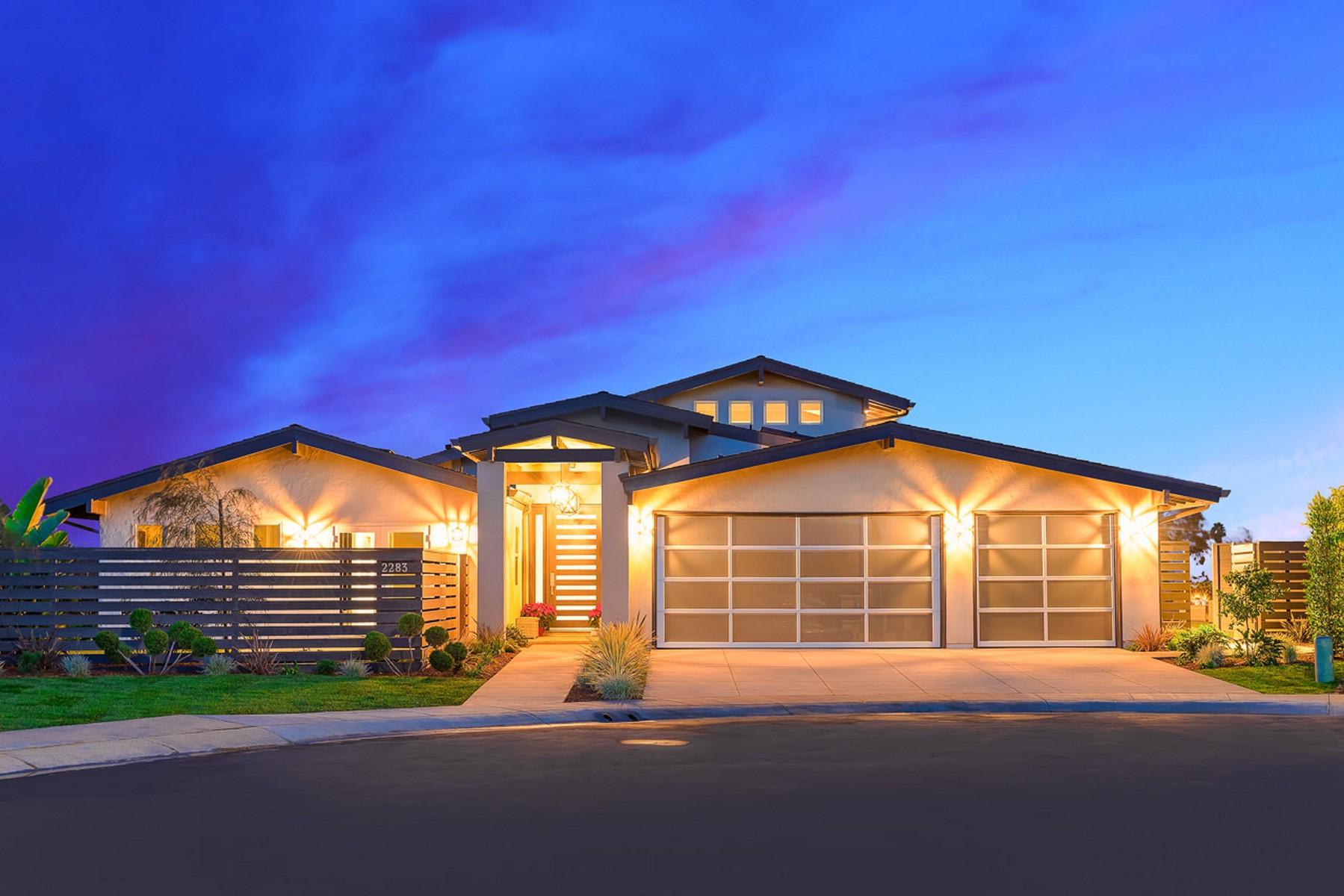 단독 가정 주택 용 매매 에 2283 Via Fresa La Jolla, 캘리포니아, 92037 미국
