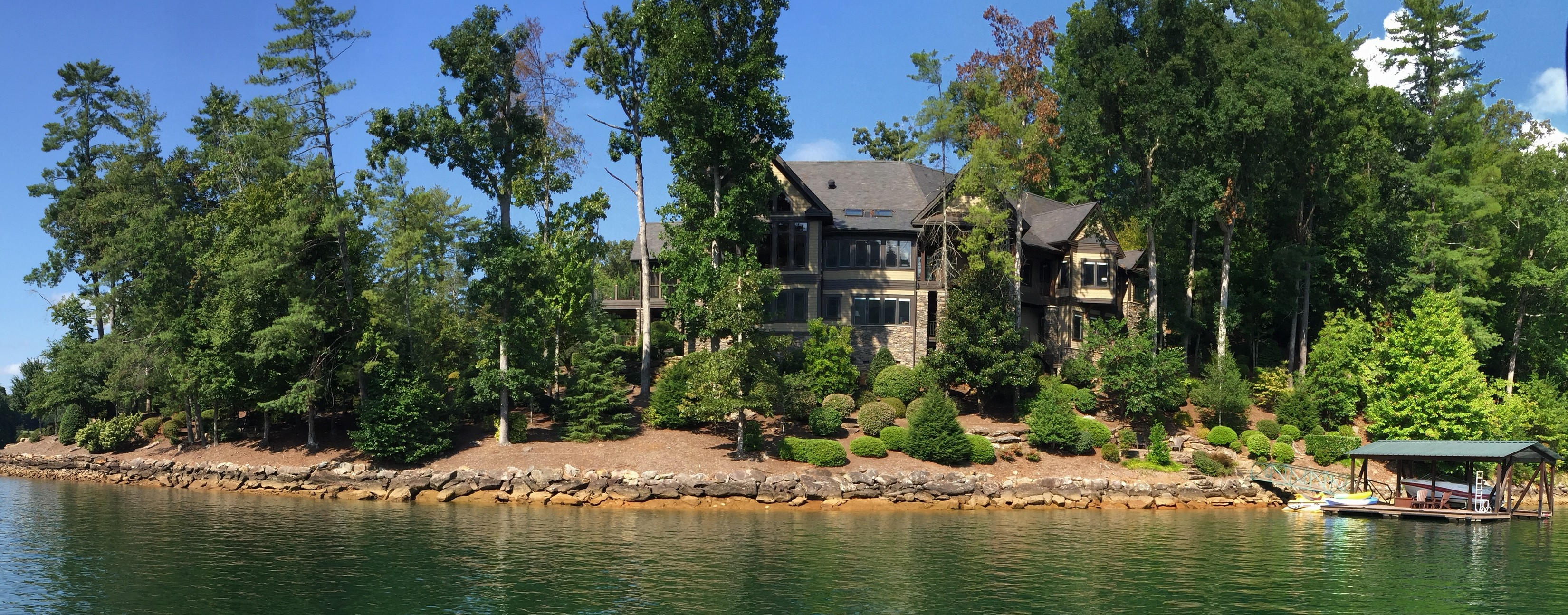 Single Family Home for Sale at Outstanding Lakeside Retreat With Breathtaking Views From a Superb Peninsula 107 Nine Bark Way Sunset, South Carolina, 29685 United States