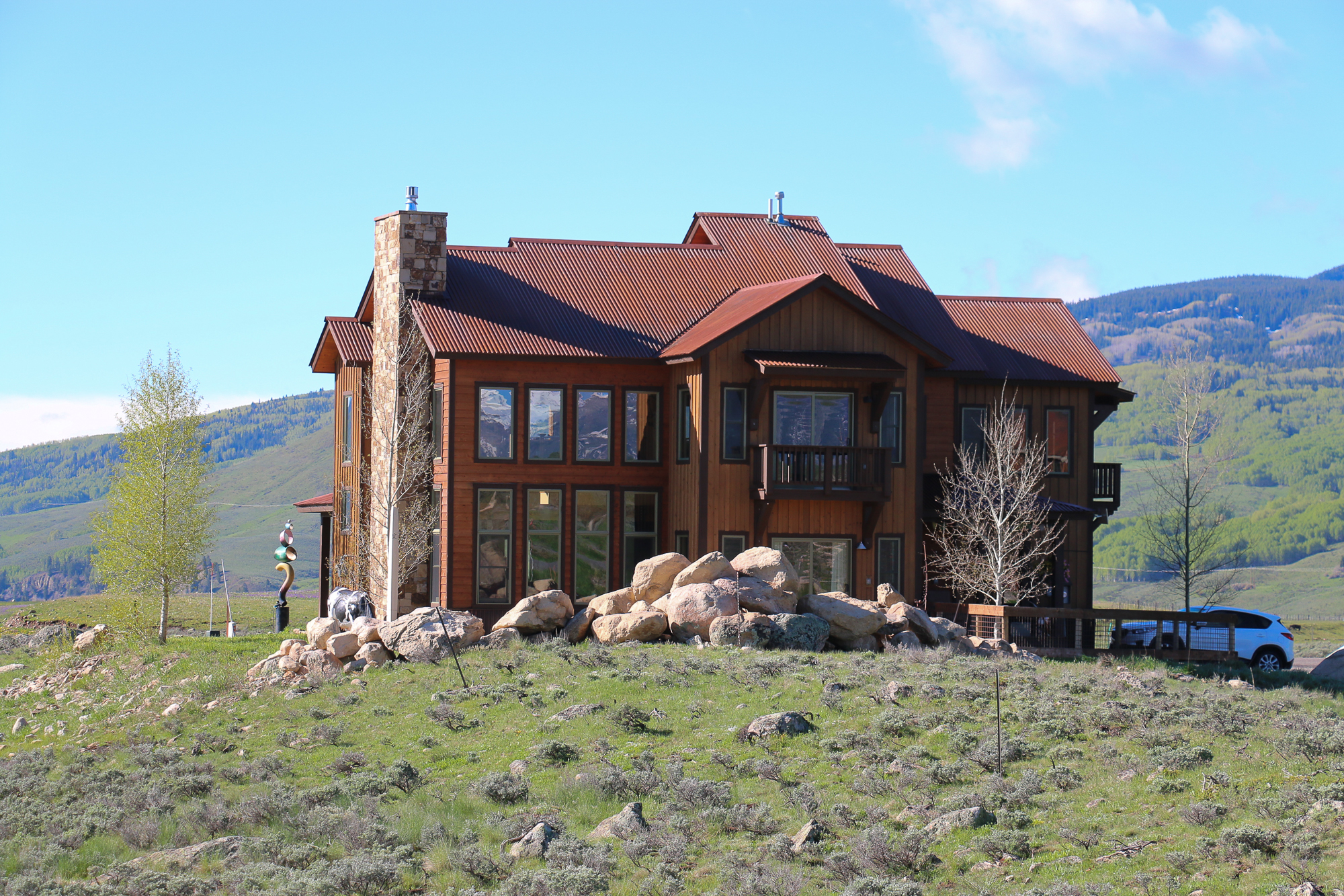 Single Family Home for Sale at Captivating Views at Buckhorn Ranch 391 White Stallion Circle Crested Butte, Colorado 81224 United States