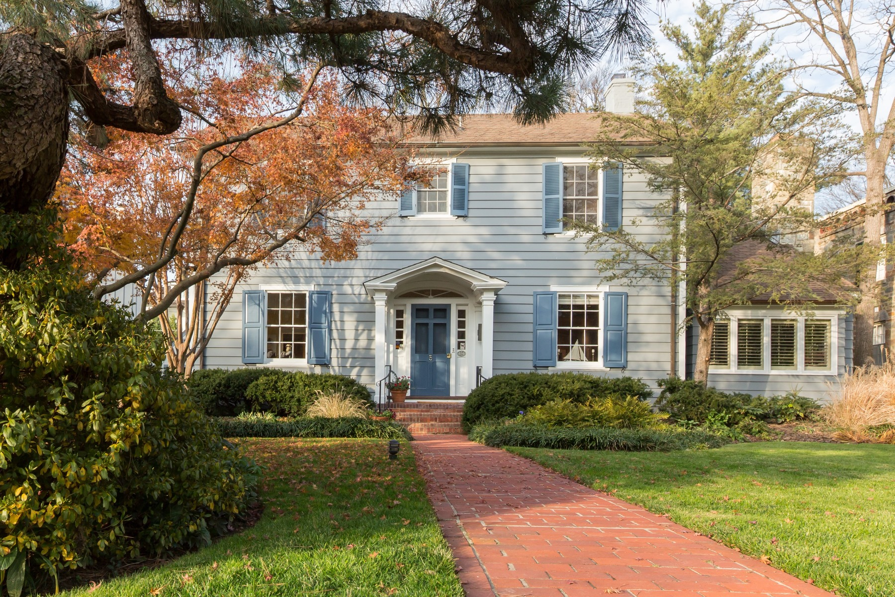 Single Family Home for Sale at 5 Primrose Street, Chevy Chase Chevy Chase, Maryland 20815 United States