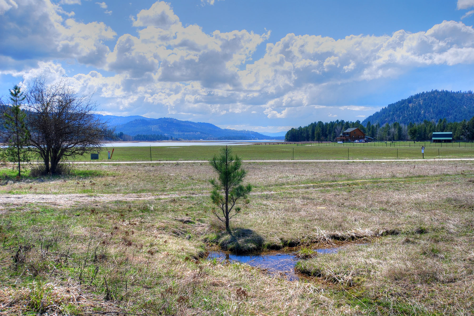 Land for Sale at Sunny Building Lot w/Community Waterfront NNA - Lot 3 Ponderosa Ranch Rd Sagle, Idaho 83860 United States