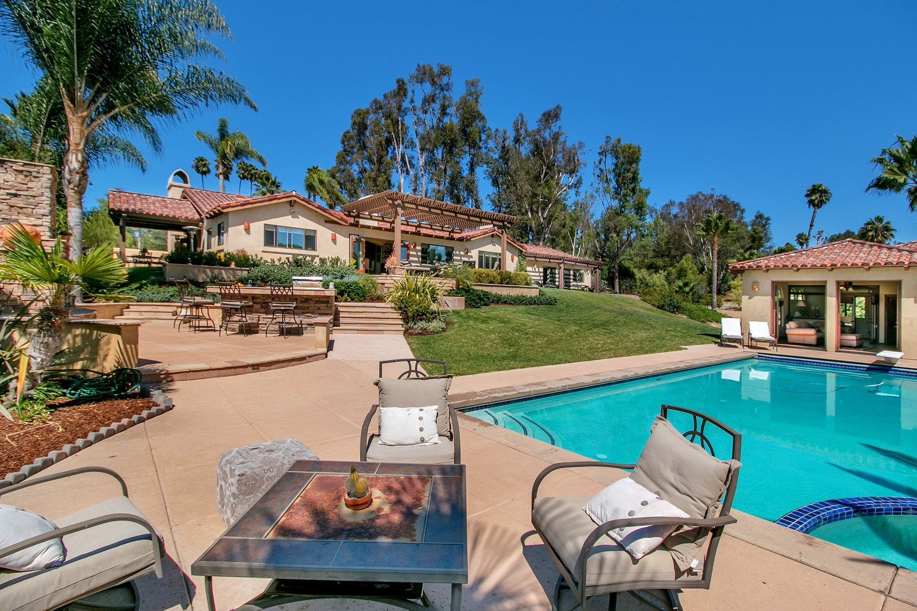 Single Family Home for Sale at 7211 Siete Leguas Rancho Santa Fe, California 92067 United States
