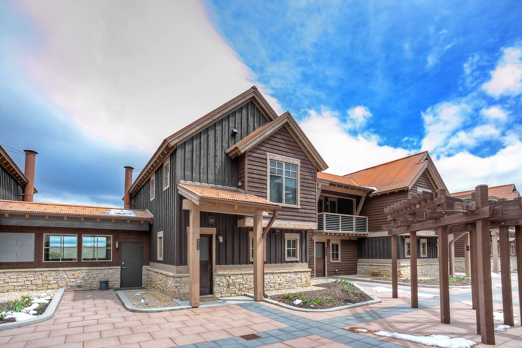 Townhouse for Sale at Quintessential Park City Lifestyle 1825 Three Kings Dr #203 Park City, Utah 84060 United States