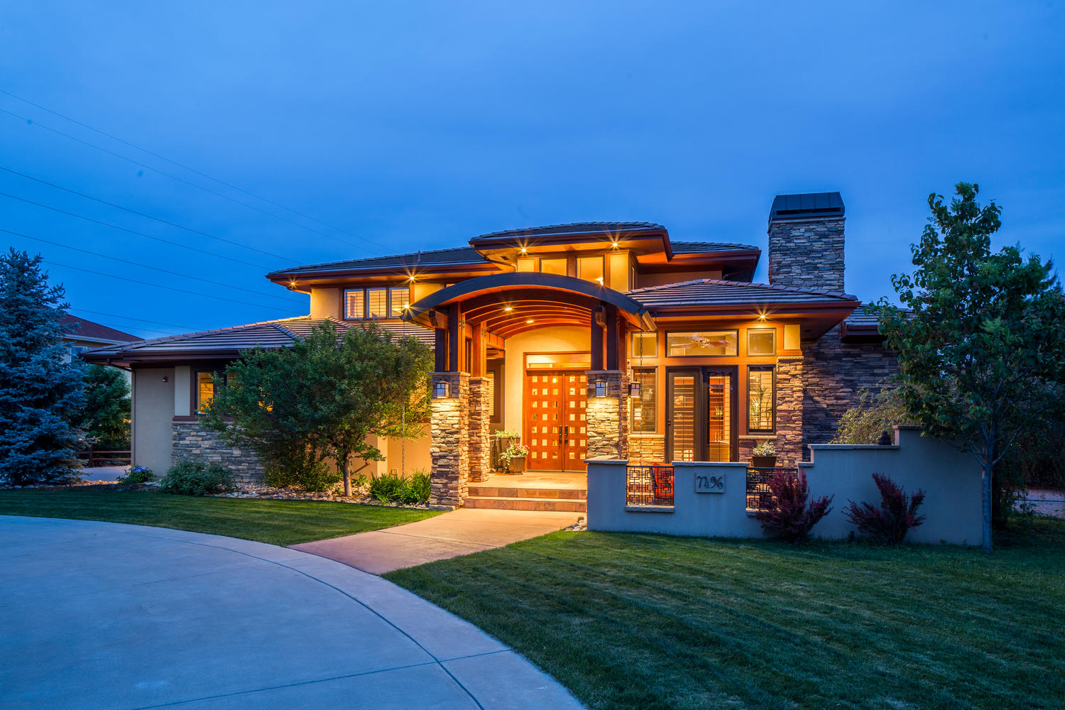 Single Family Home for Sale at Stunning Custom Home 7496 Panorama Dr Boulder, Colorado, 80303 United States