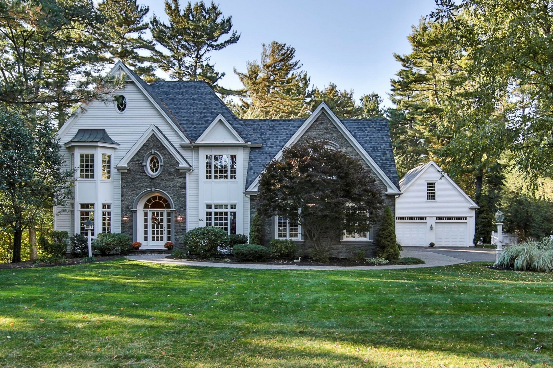 sales property at Exquisite Hallmark Builder's home nestled on Lake Whitehall
