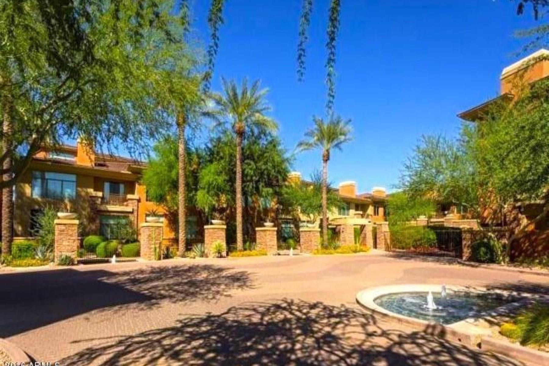 Konak için Satış at Interior floorplan is offered for sale in Astragal Luxury Villas 14450 N Thompson Peak PKWY 214 Scottsdale, Arizona, 85260 Amerika Birleşik Devletleri