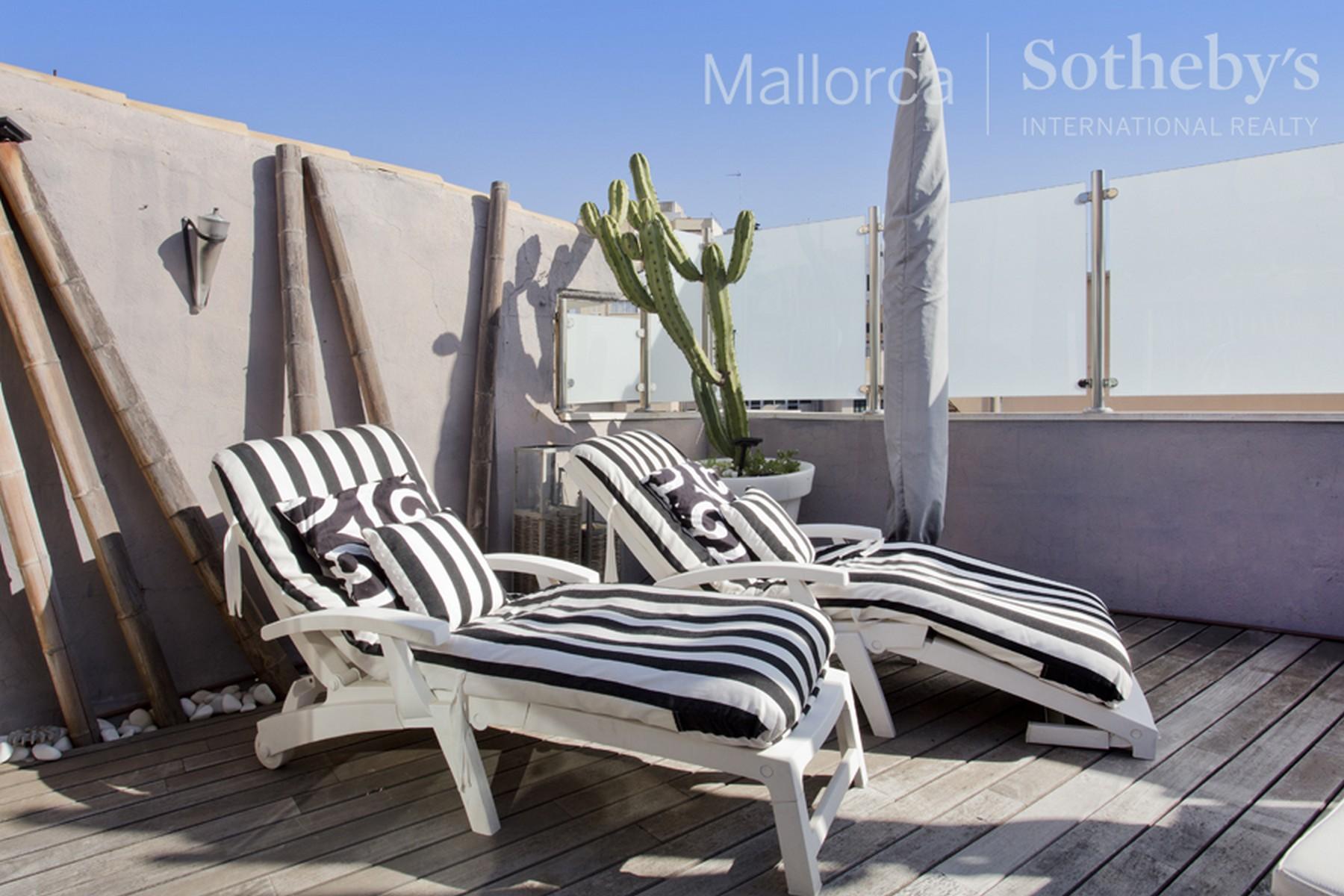 Einfamilienhaus für Verkauf beim Penthouse mit Terrasse in Palma Palma Center, Mallorca 07001 Spanien