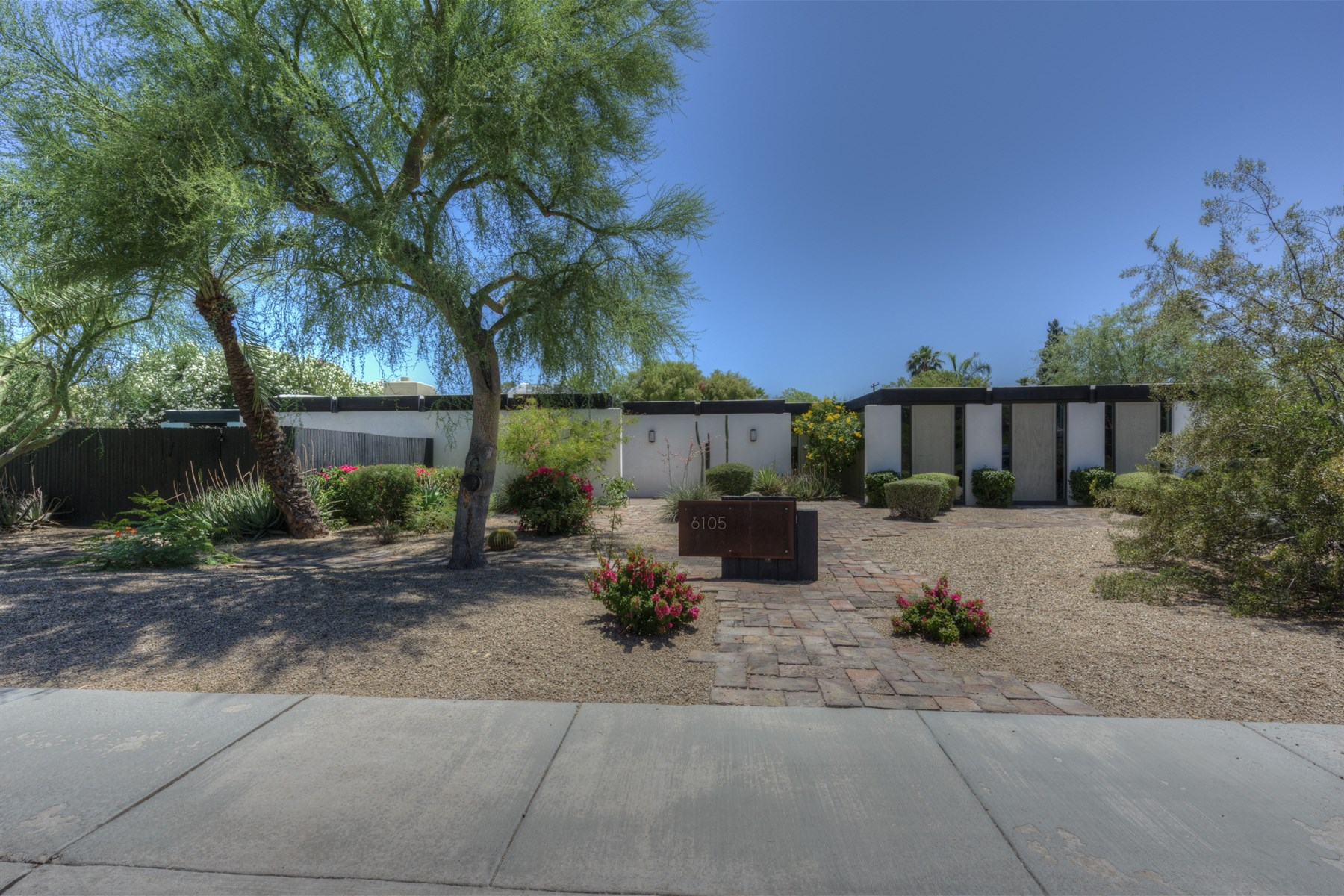 sales property at Mid-Century Modern home