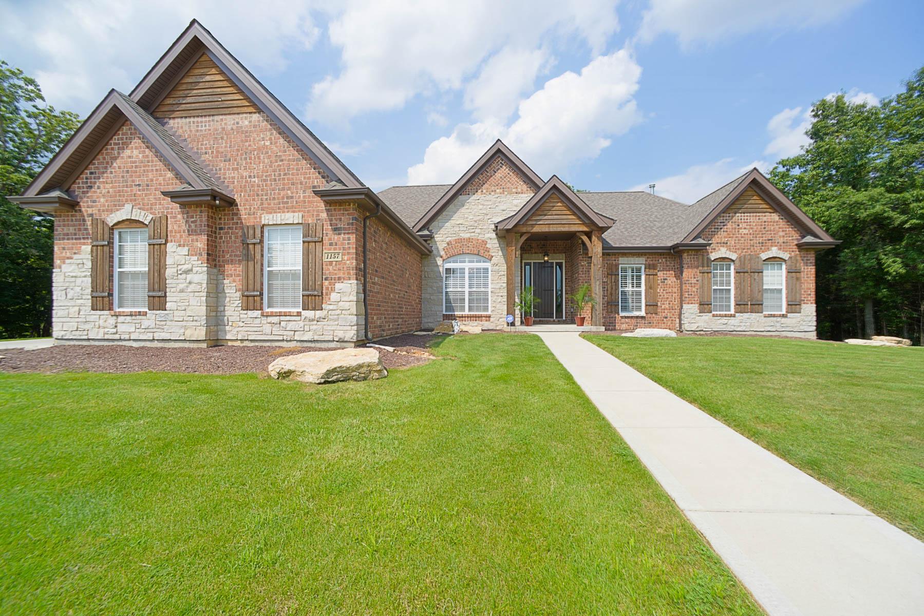 단독 가정 주택 용 매매 에 Ironhorse Court 1157 Ironhorse Court Wentzville, 미주리 63385 미국
