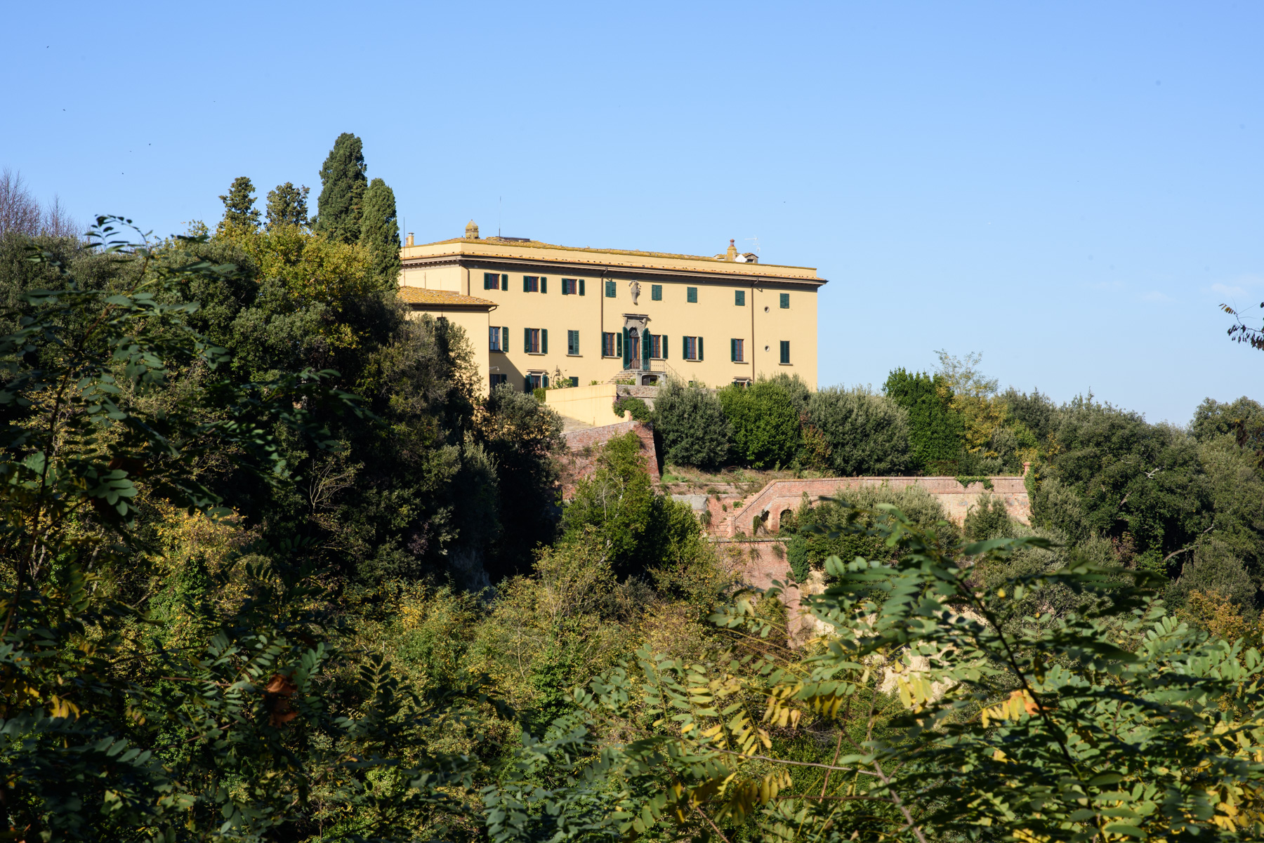 sales property at Historic Estate in the Heart of Tuscany: Villa Strozzi in Collegalli