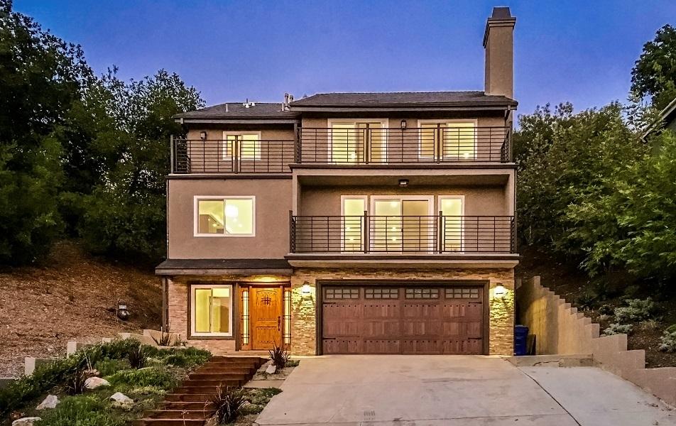 Maison unifamiliale pour l Vente à 3540 Pansy Dr. 3540 Pansy Drive Calabasas, Californie, 91302 États-Unis