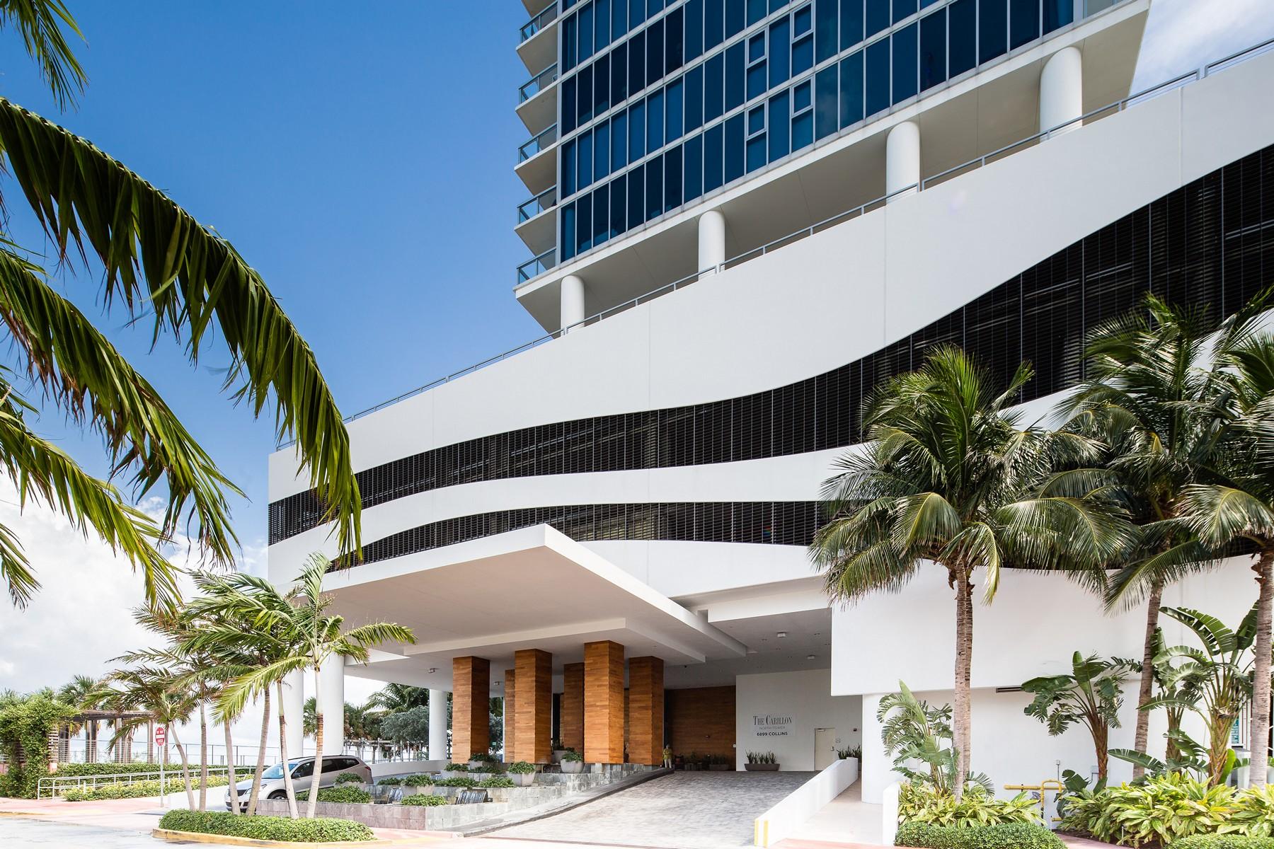 Copropriété pour l Vente à 6801 Collins Ave #LPH15 Miami Beach, Florida 33141 États-Unis