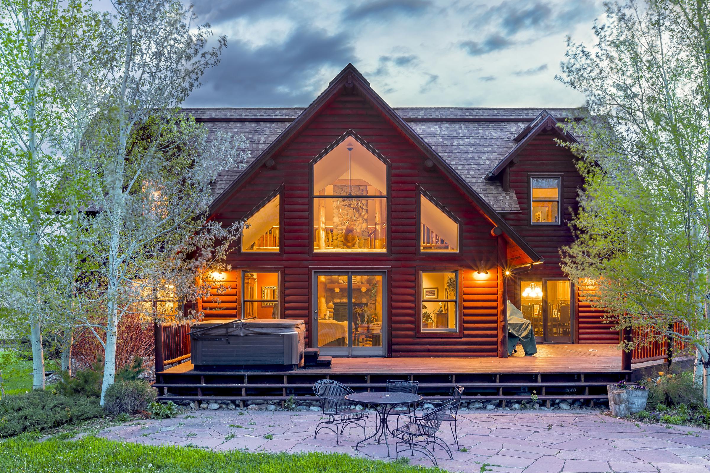 Maison unifamiliale pour l Vente à Triple B Ranch 30450 Triple B Lane Steamboat Springs, Colorado, 80487 États-Unis