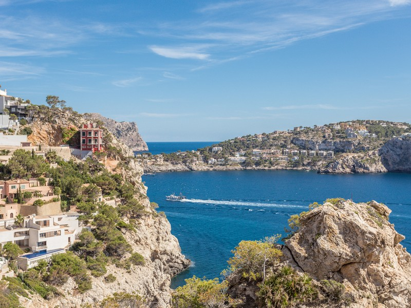 Single Family Home for Sale at Seafront villa in Port Andratx Port Andratx, Mallorca 07013 Spain