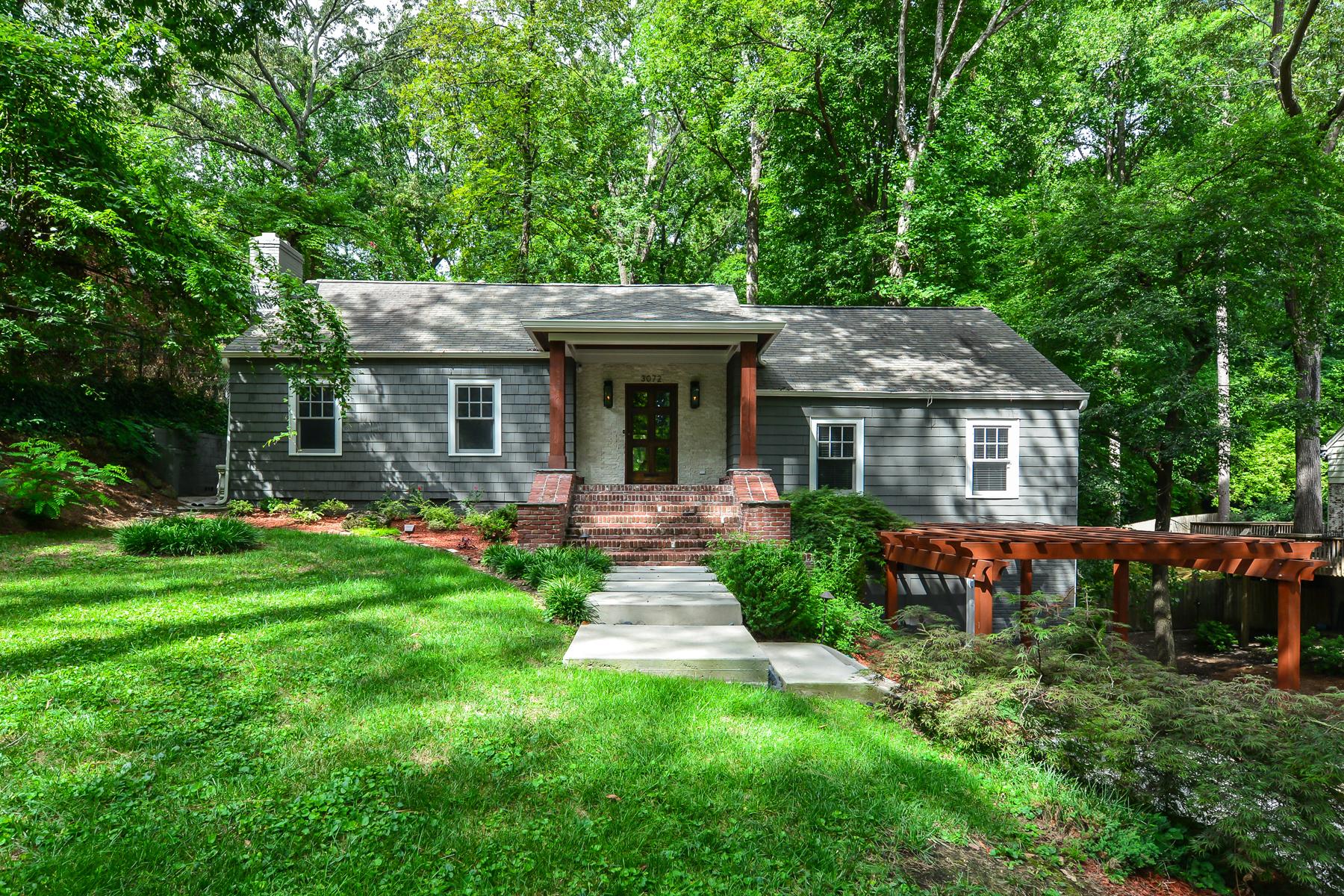Einfamilienhaus für Verkauf beim Total Renovation In Peachtree Park 3072 Dale Drive Peachtree Park, Atlanta, Georgia, 30305 Vereinigte Staaten