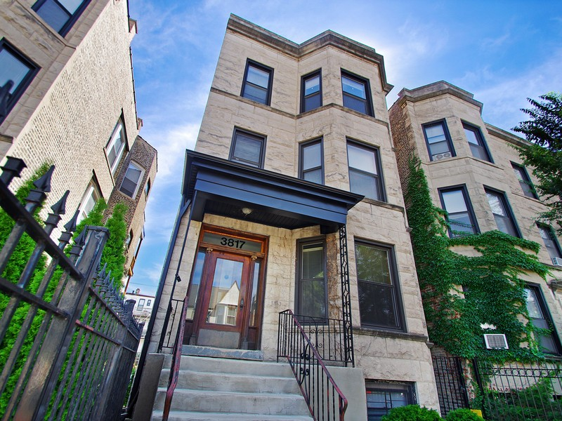 Maison multifamiliale pour l Vente à Rare Opportunity for Investment 3817 N Wilton Lakeview, Chicago, Illinois 60613 États-Unis