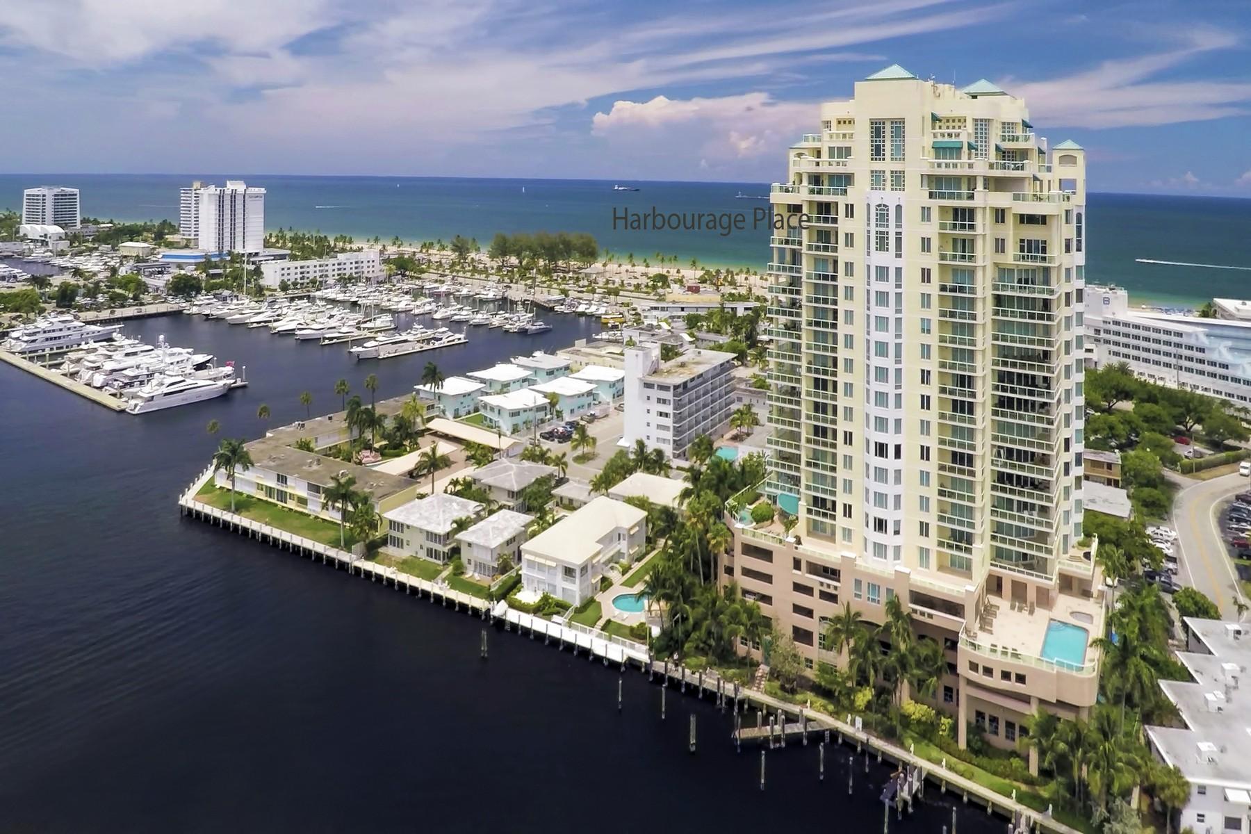 コンドミニアム のために 売買 アット Harbourage Place 3055 Harbor Dr #1903 Fort Lauderdale, フロリダ 33316 アメリカ合衆国