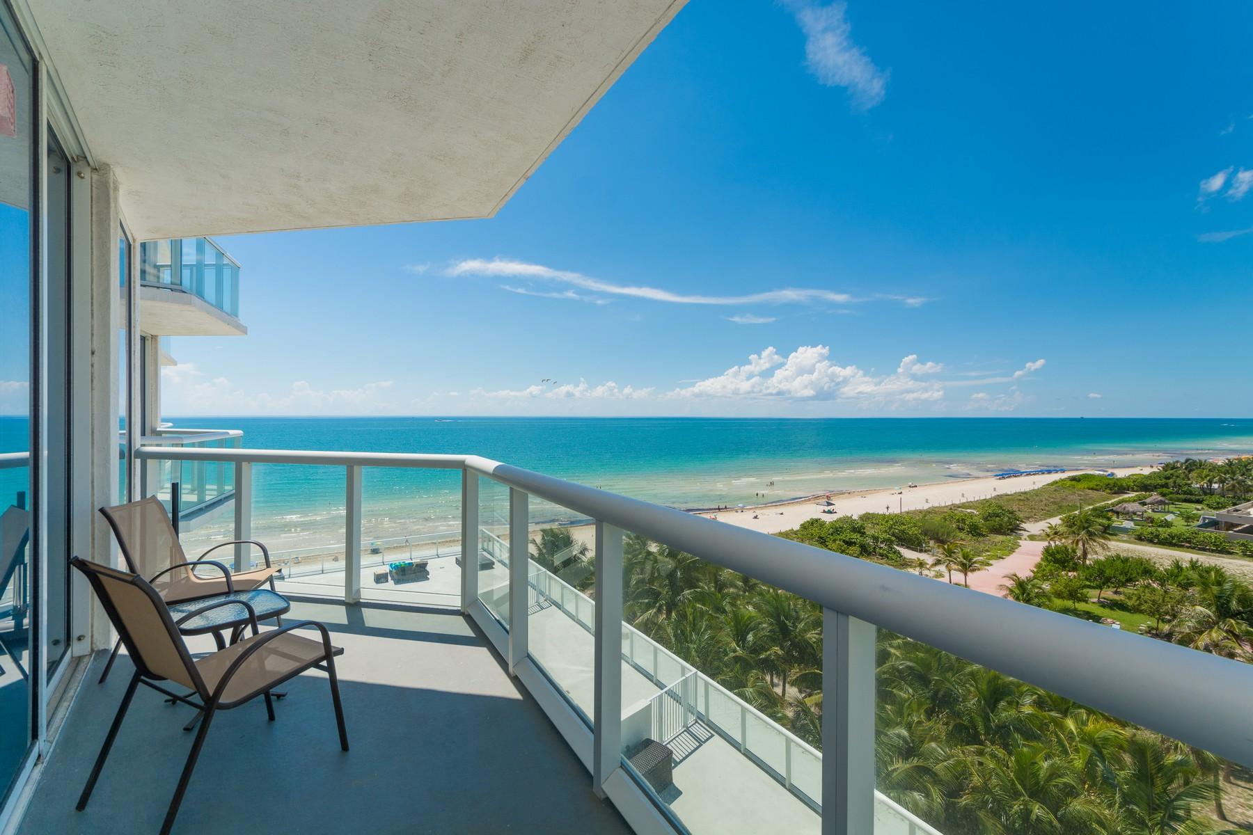 Condomínio para Venda às 6515 Collins Ave # 805 Miami Beach, Florida 33141 Estados Unidos
