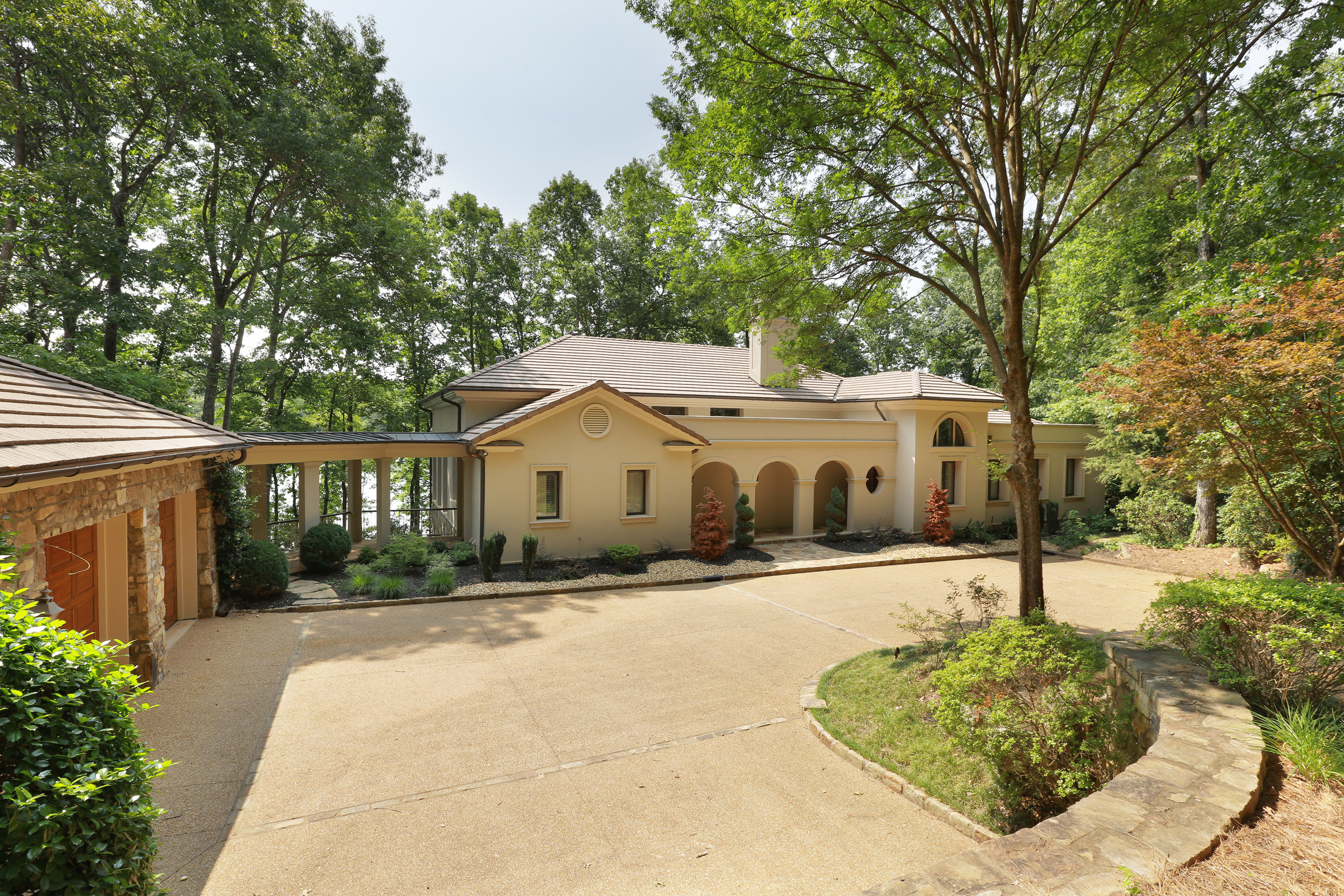 Property For Sale at Stunning Gated Estate on Lanier