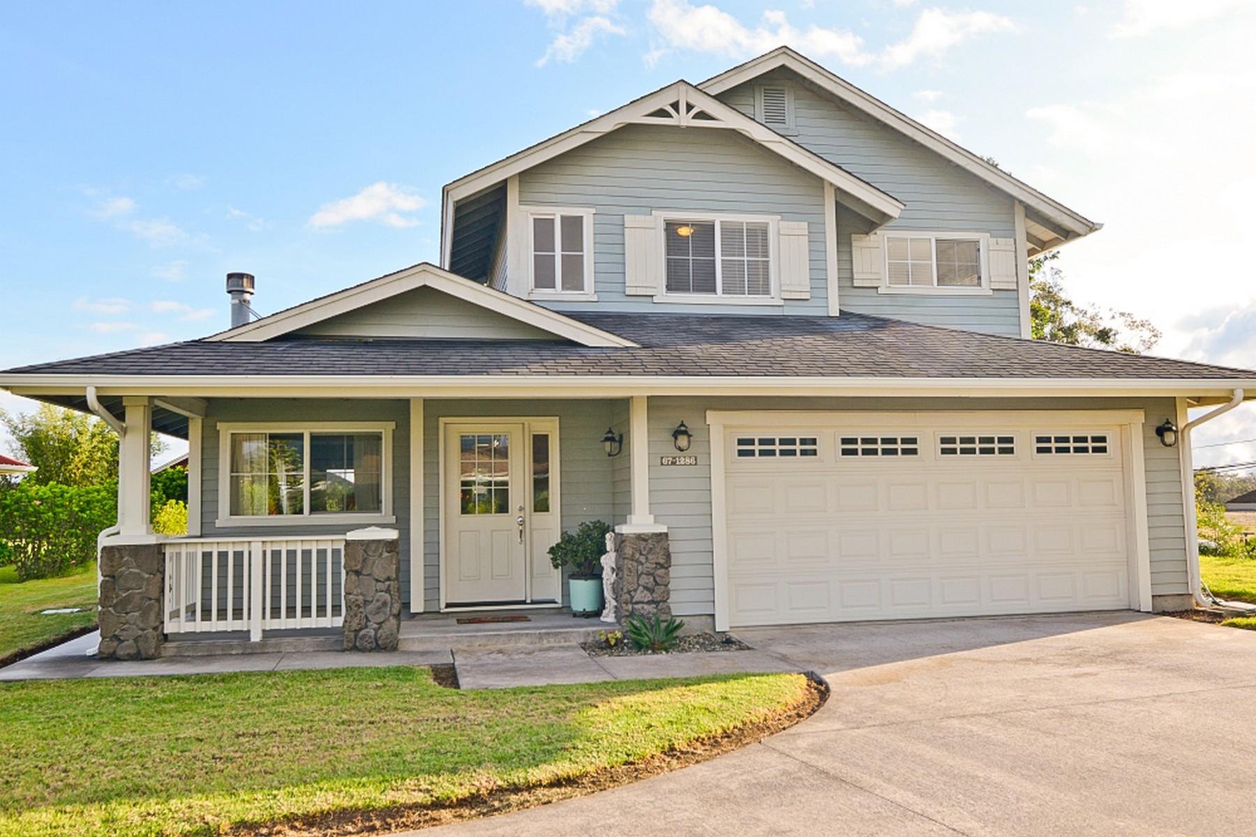 Einfamilienhaus für Verkauf beim Laulai 67-1286 Kamaloo St Kamuela, Hawaii 96743 Vereinigte Staaten