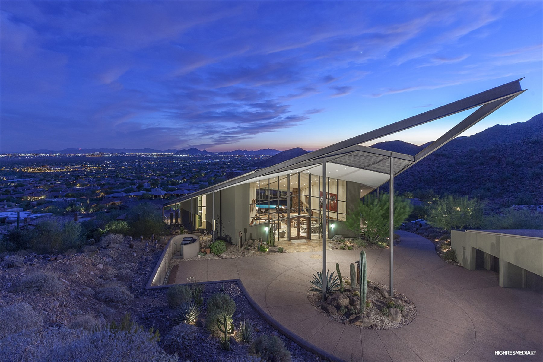 Property For Sale at Architectural Masterpiece in Scottsdale Mountain