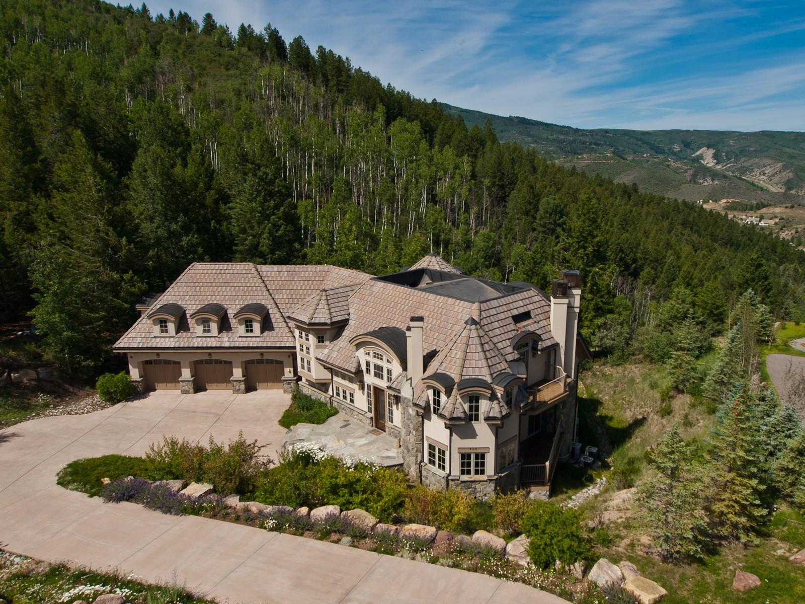 Single Family Home for Sale at Custom Residence in Cordillera 460 El Mirador Edwards, Colorado, 81632 United States