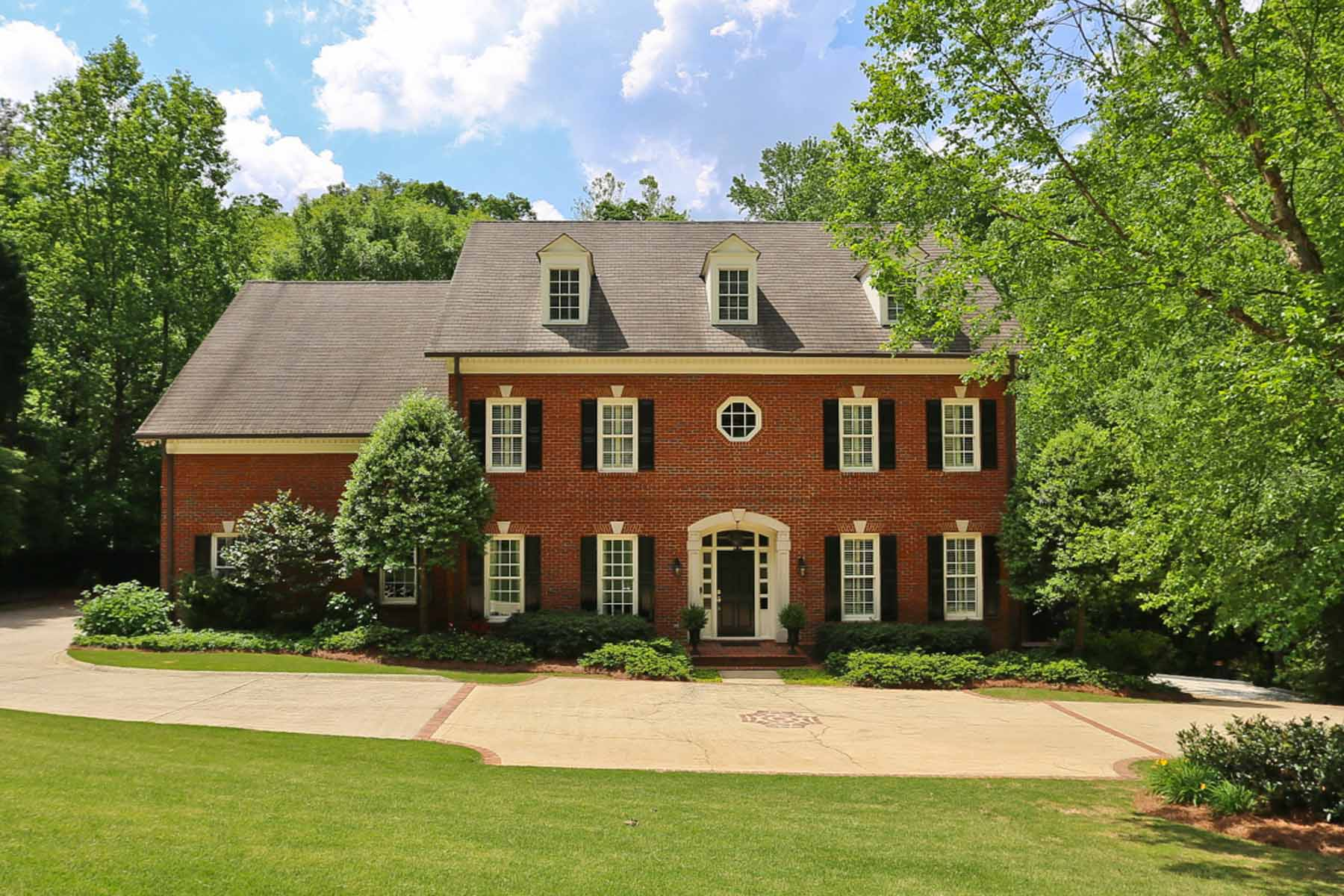 Single Family Home for Sale at Stunning Mt. Paran Residence 1578 Musket Ridge NW Atlanta, Georgia, 30327 United States