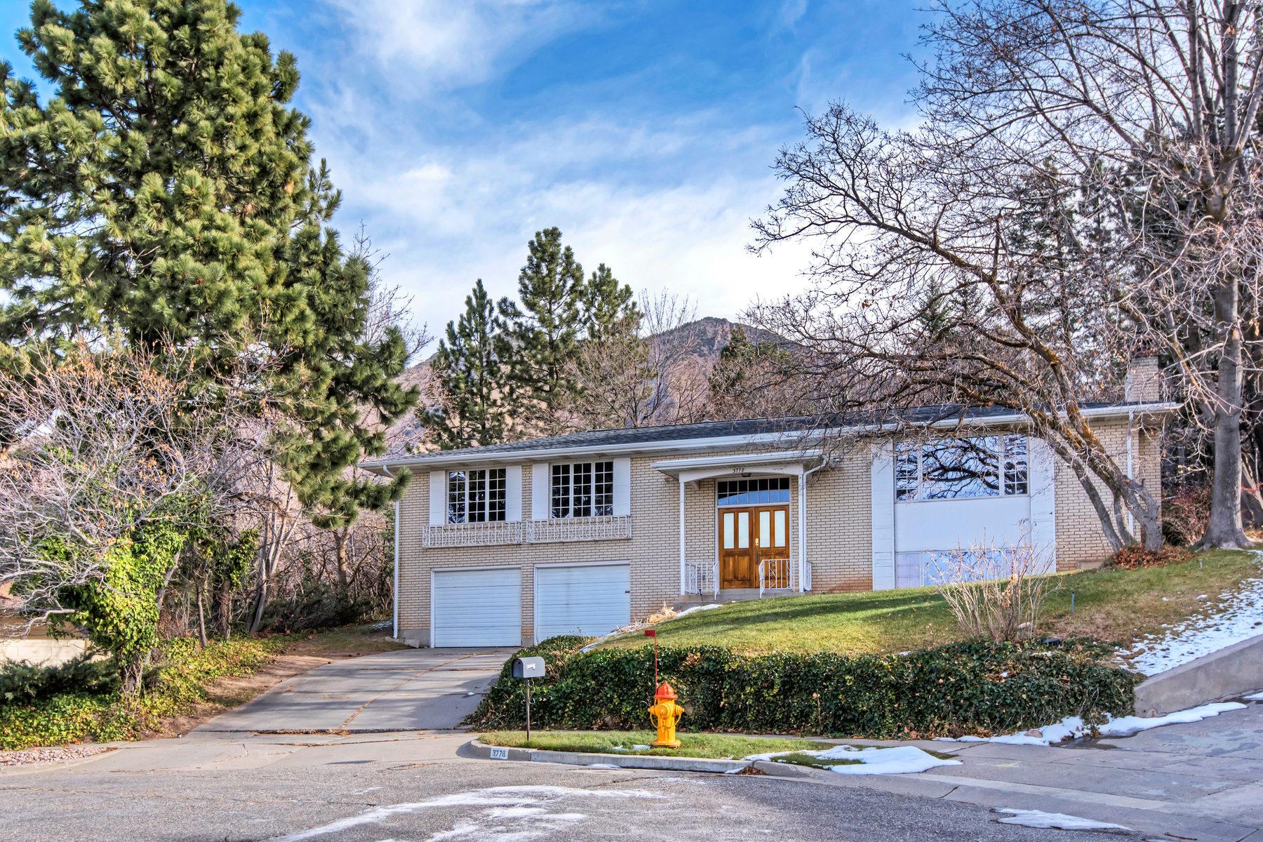 Single Family Home for Sale at Mt Olympus Living 3778 E Eastcliff Cir Salt Lake City, Utah 84124 United States