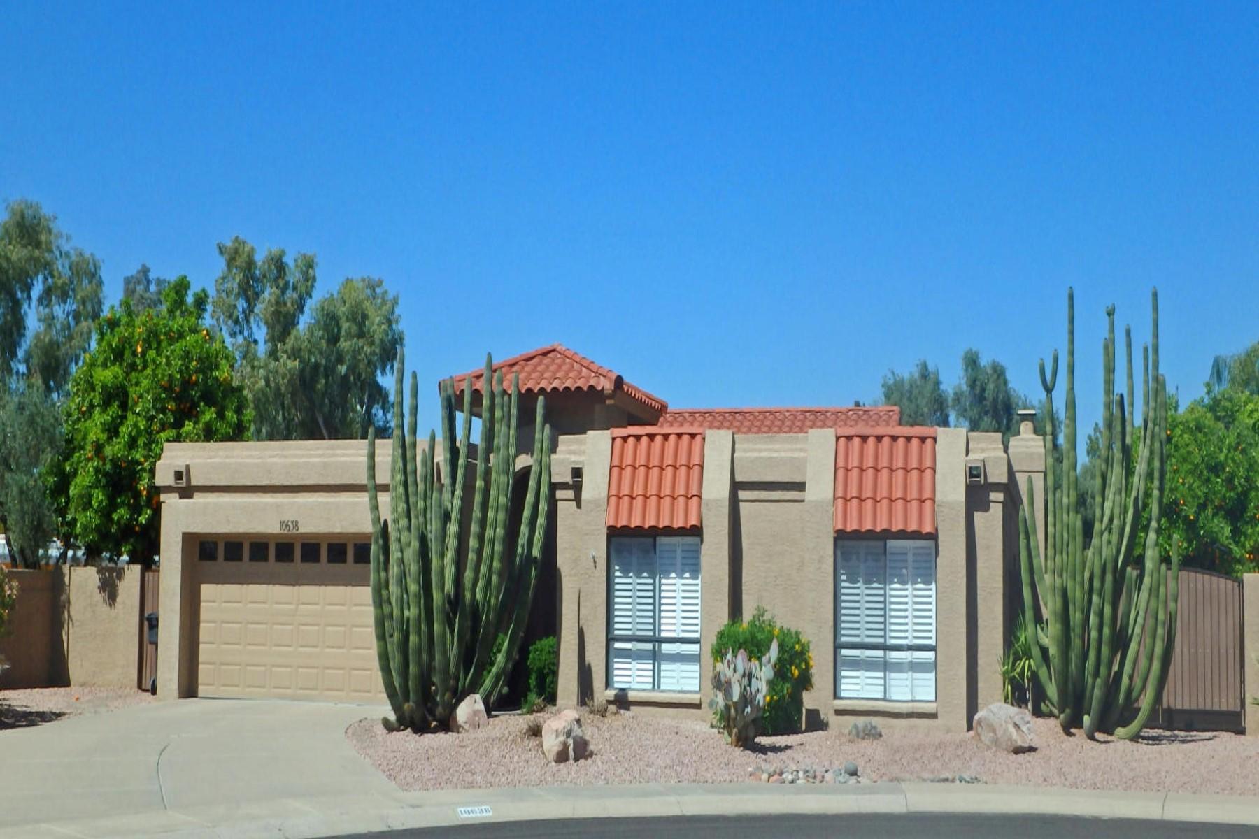 獨棟家庭住宅 為 出售 在 Beautiful home built by Golden Heritage 10638 E Topaz Drive Scottsdale, 亞利桑那州, 85258 美國