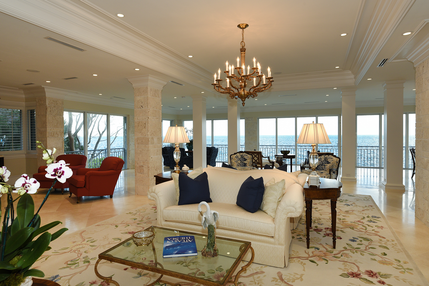 Single Family Home for Sale at Extraordinary Oceanfront Home at Ocean Reef 24 Angelfish Cay Drive Key Largo, Florida 33037 United States