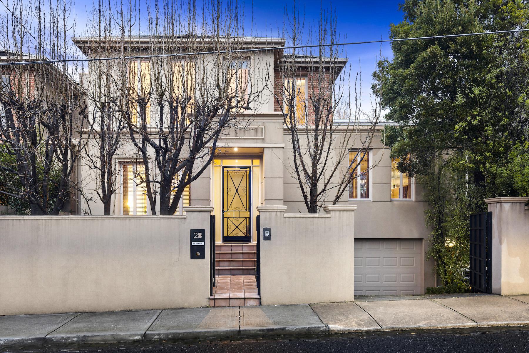 Casa Unifamiliar por un Venta en 28 Church Street, Toorak Melbourne, Victoria, 3142 Australia
