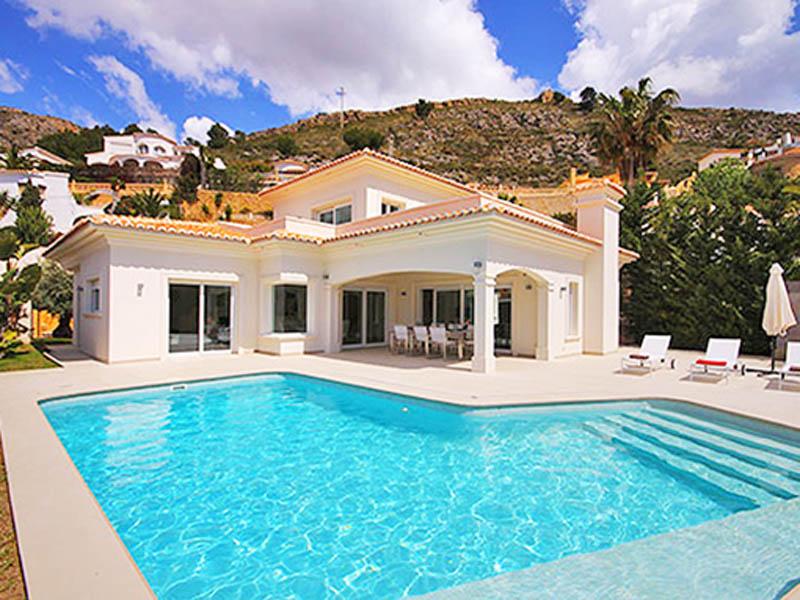 High Class Villa With Nice Views, El Portet Moraira