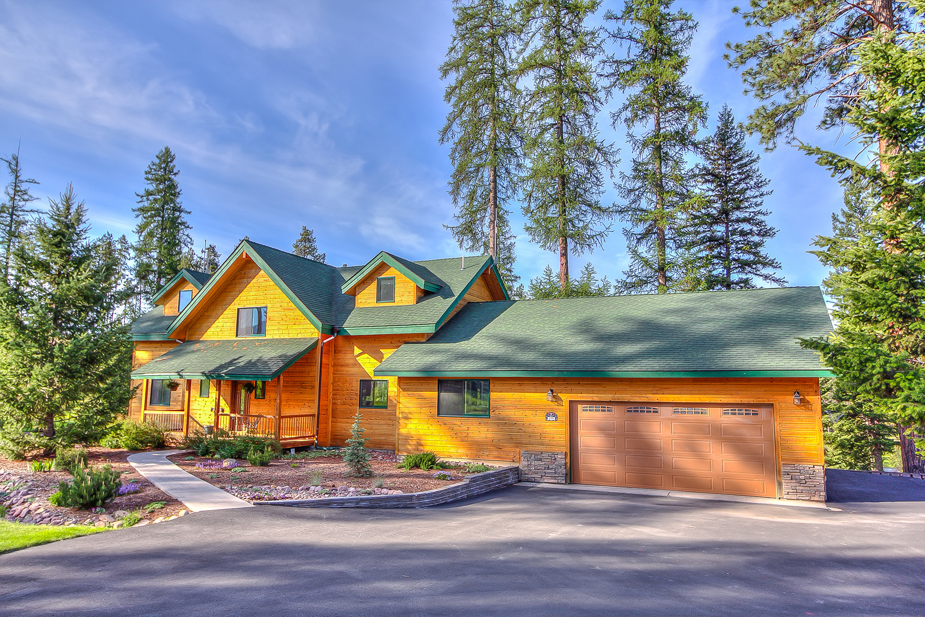 Casa para uma família para Venda às 699 Daisy Lane Seeley Lake, Montana 59868 Estados Unidos