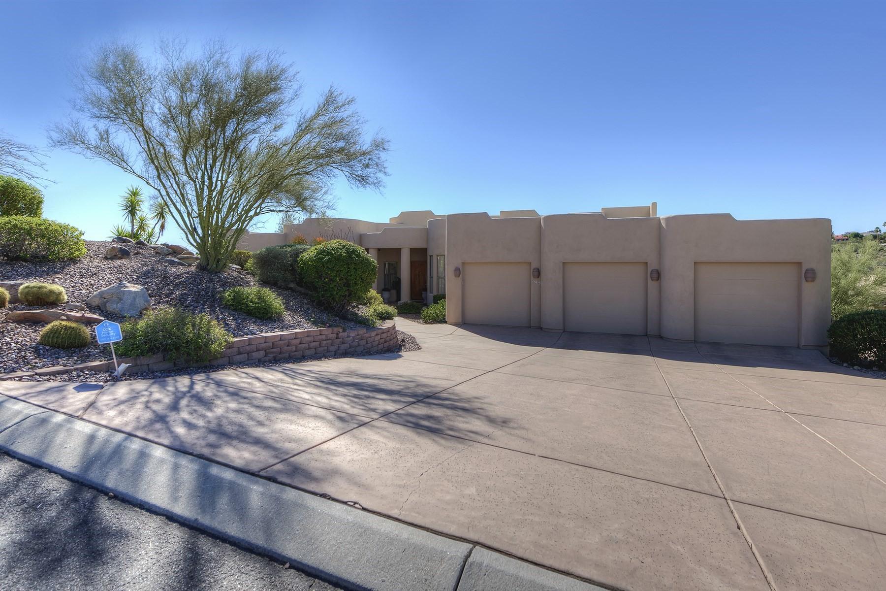 Single Family Home for Sale at Beautiful hillside home in Fountain Hills 15439 E SUNBURST DR Fountain Hills, Arizona, 85268 United States