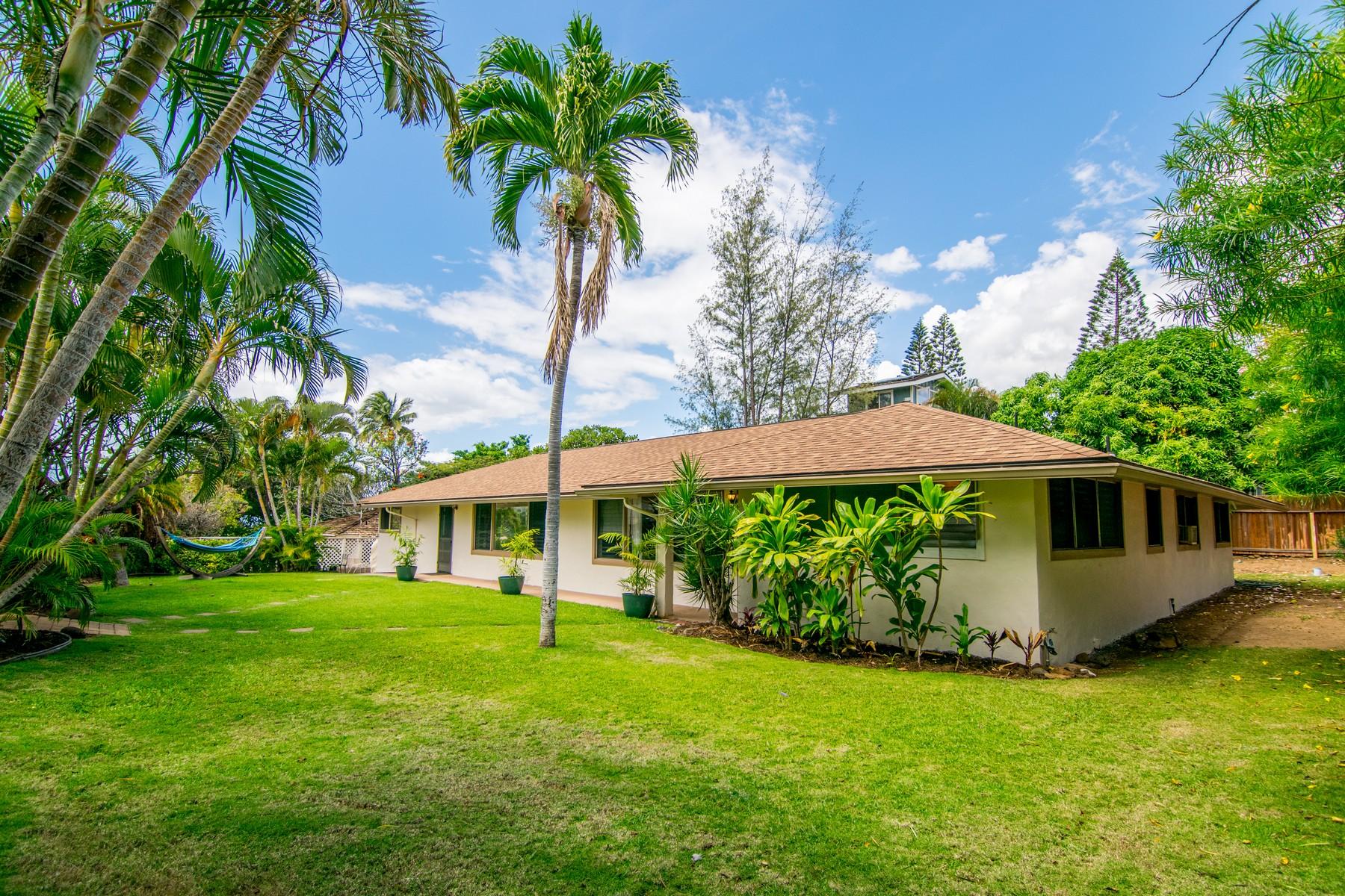 Частный односемейный дом для того Продажа на Short Stroll to Maui's Premier South Shore Beaches 165 Kanani Road Kihei, Гавайи, 96753 Соединенные Штаты
