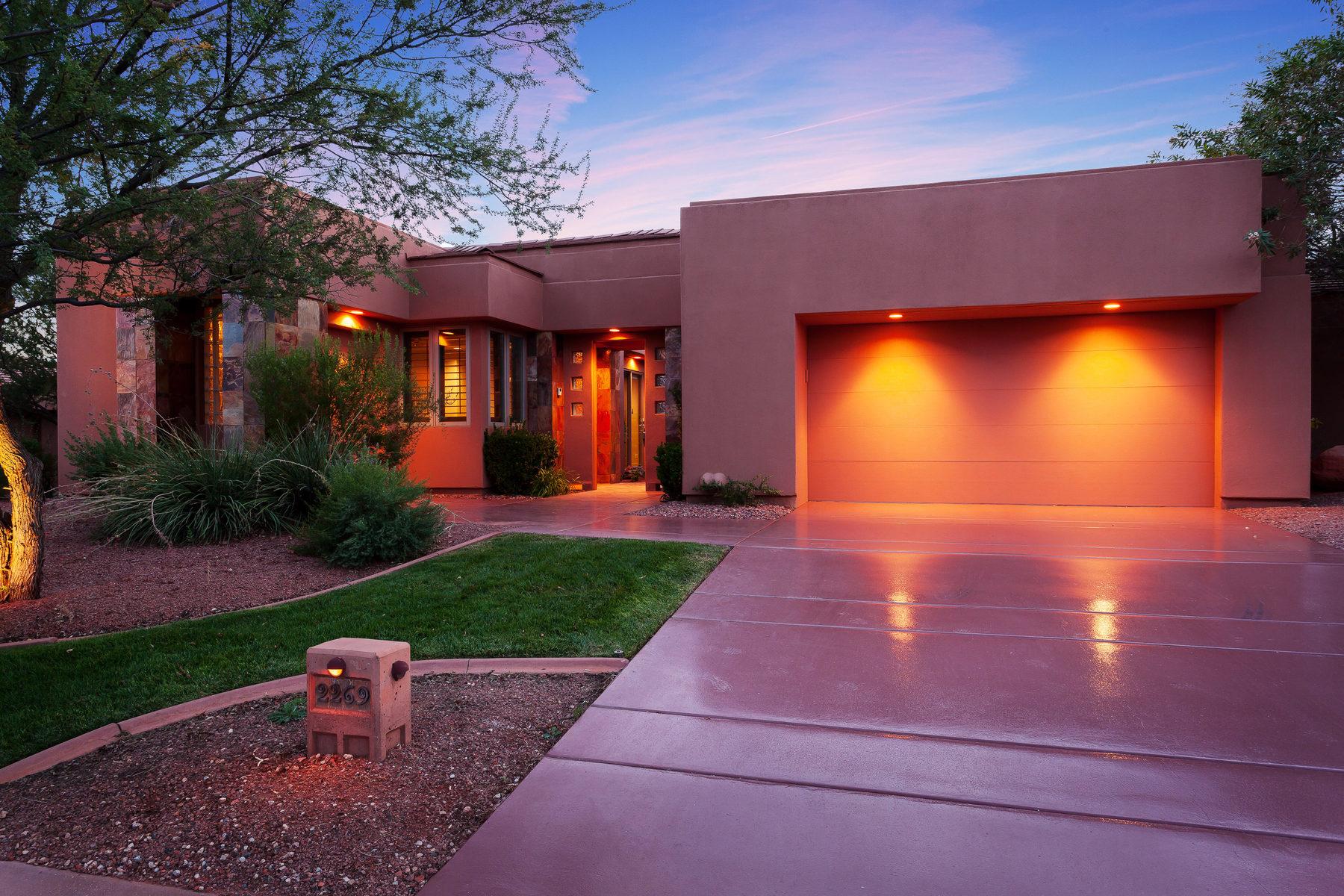 Villa per Vendita alle ore Golf Course Vistas 2269 N Cohonina Cir St. George, Utah, 84770 Stati Uniti